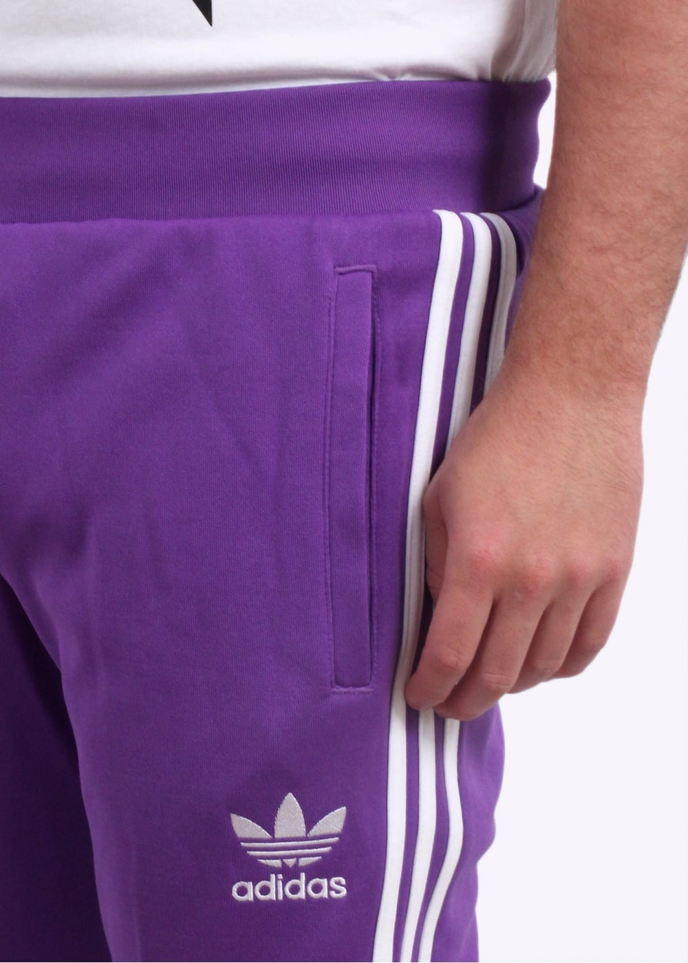 new arrivals buy best picked up adidas Originals Apparel Real Madrid Track Pants - Purple