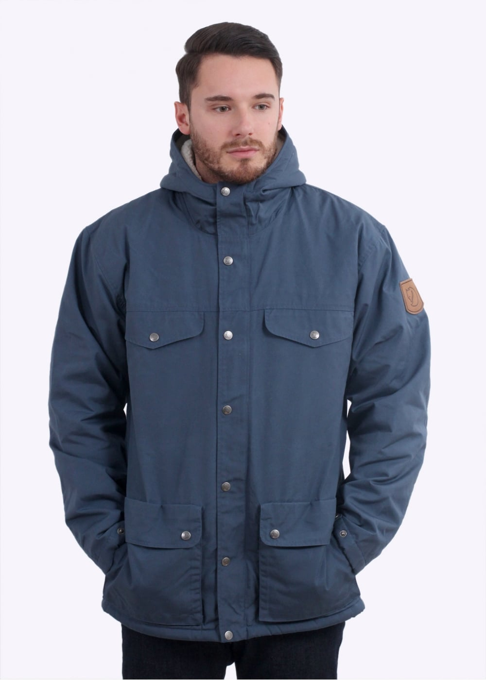 1b24f175ed3b Fjallraven Greenland Winter Jacket - Uncle Blue - Triads Mens from ...