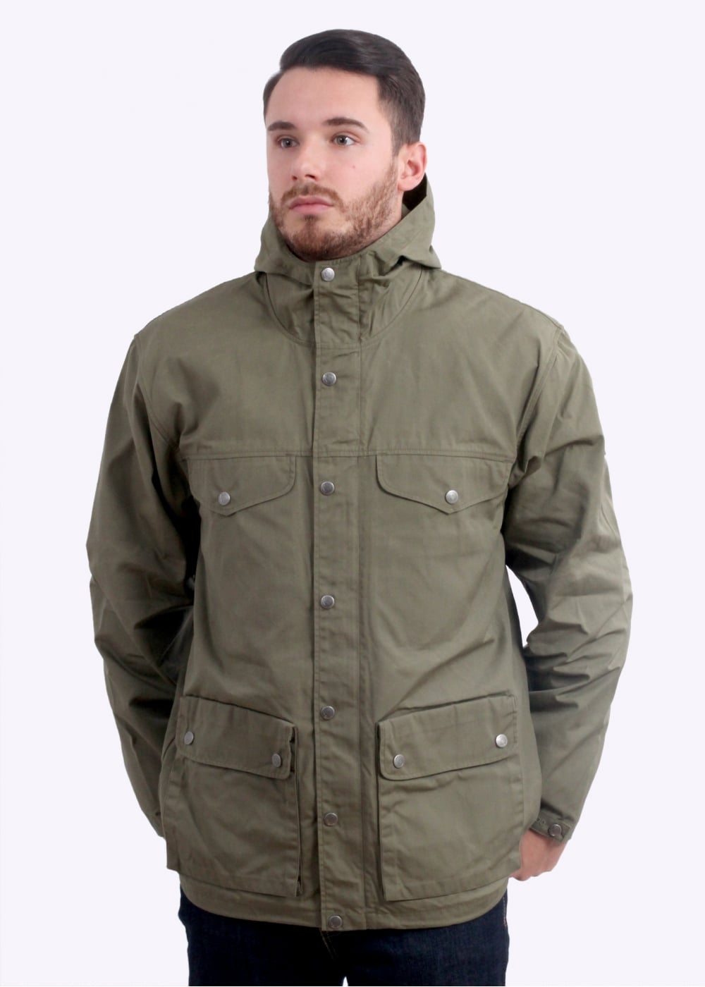 Fjallraven Greenland Jacket - Green - Triads Mens from Triads UK 6a8bac11653