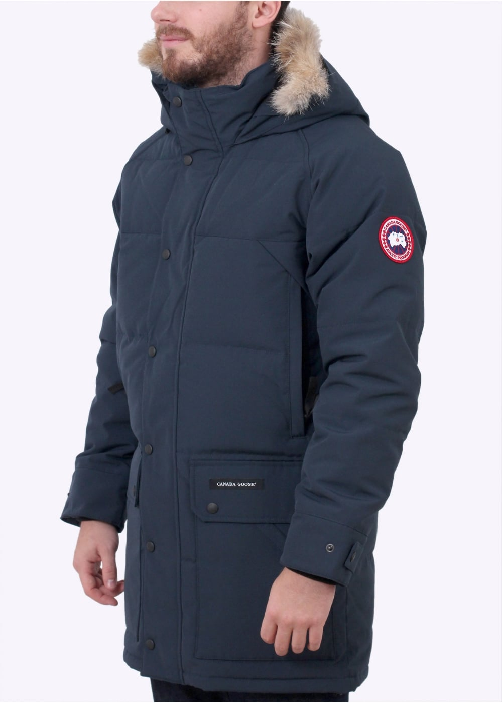 Canada Goose Emory Parka Ink Blue | Inspiration Outfits