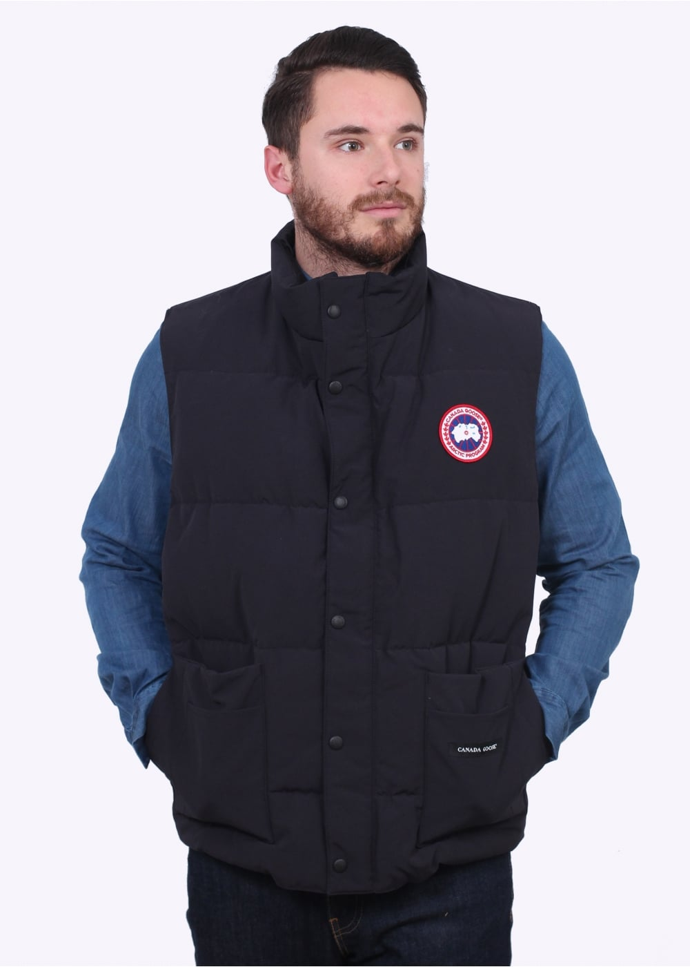 canada goose freestyle vest navy gilets from triads uk rh triads co uk