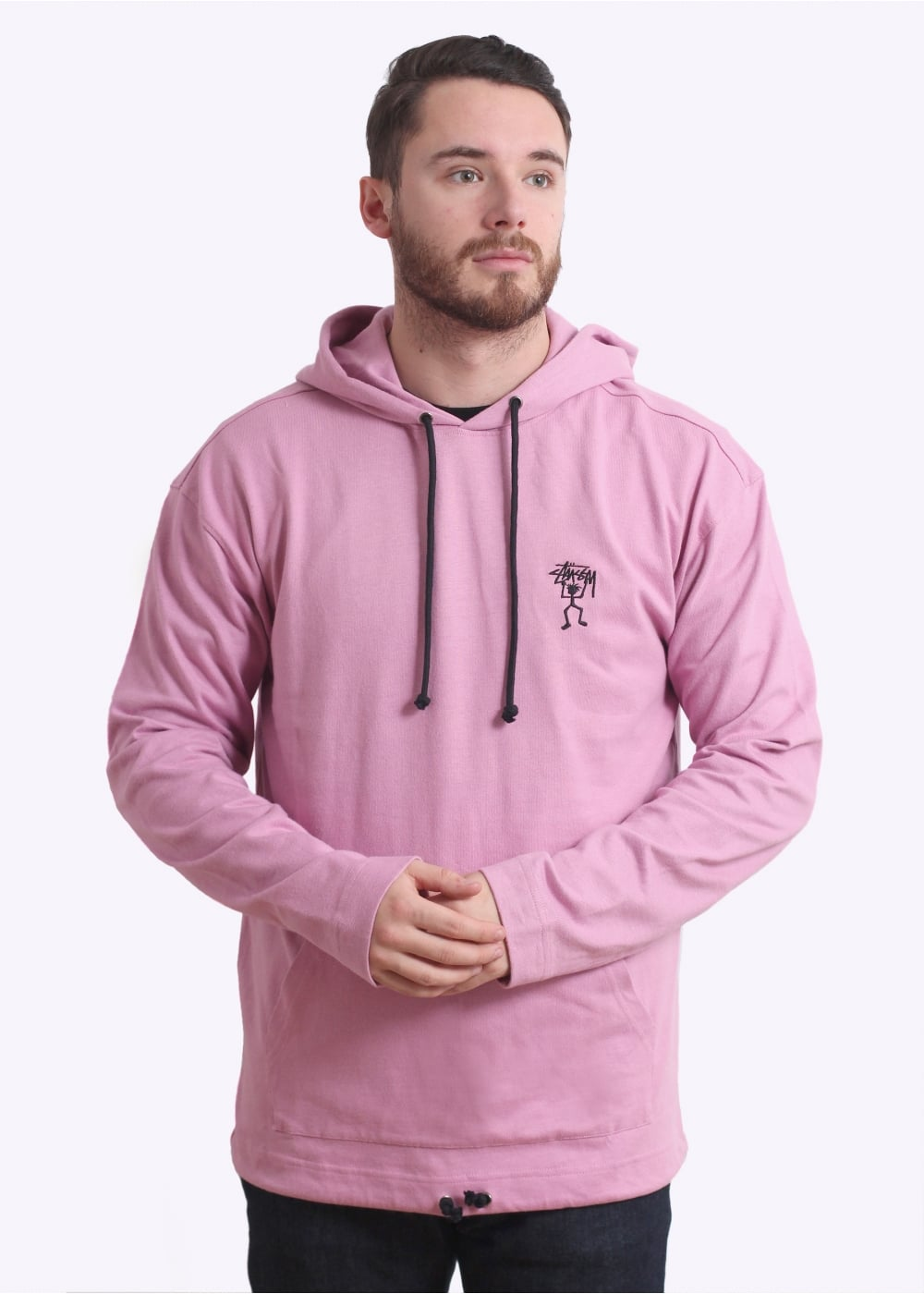 e885fc19d24f Stussy Overdyed Hoodie - Lavender - Hoodies from Triads UK