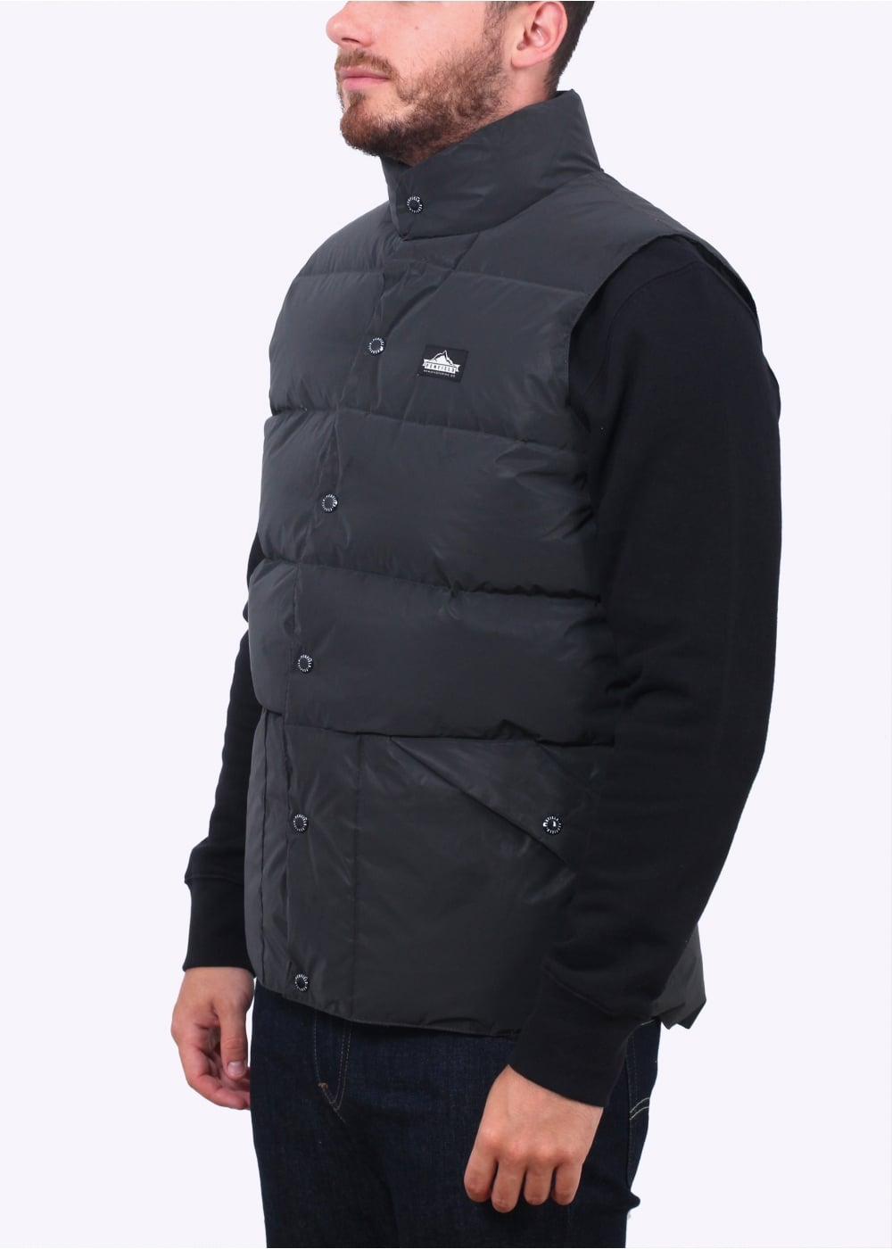 Outback Reflective Vest - Black - Gilets from Triads UK c889296564a