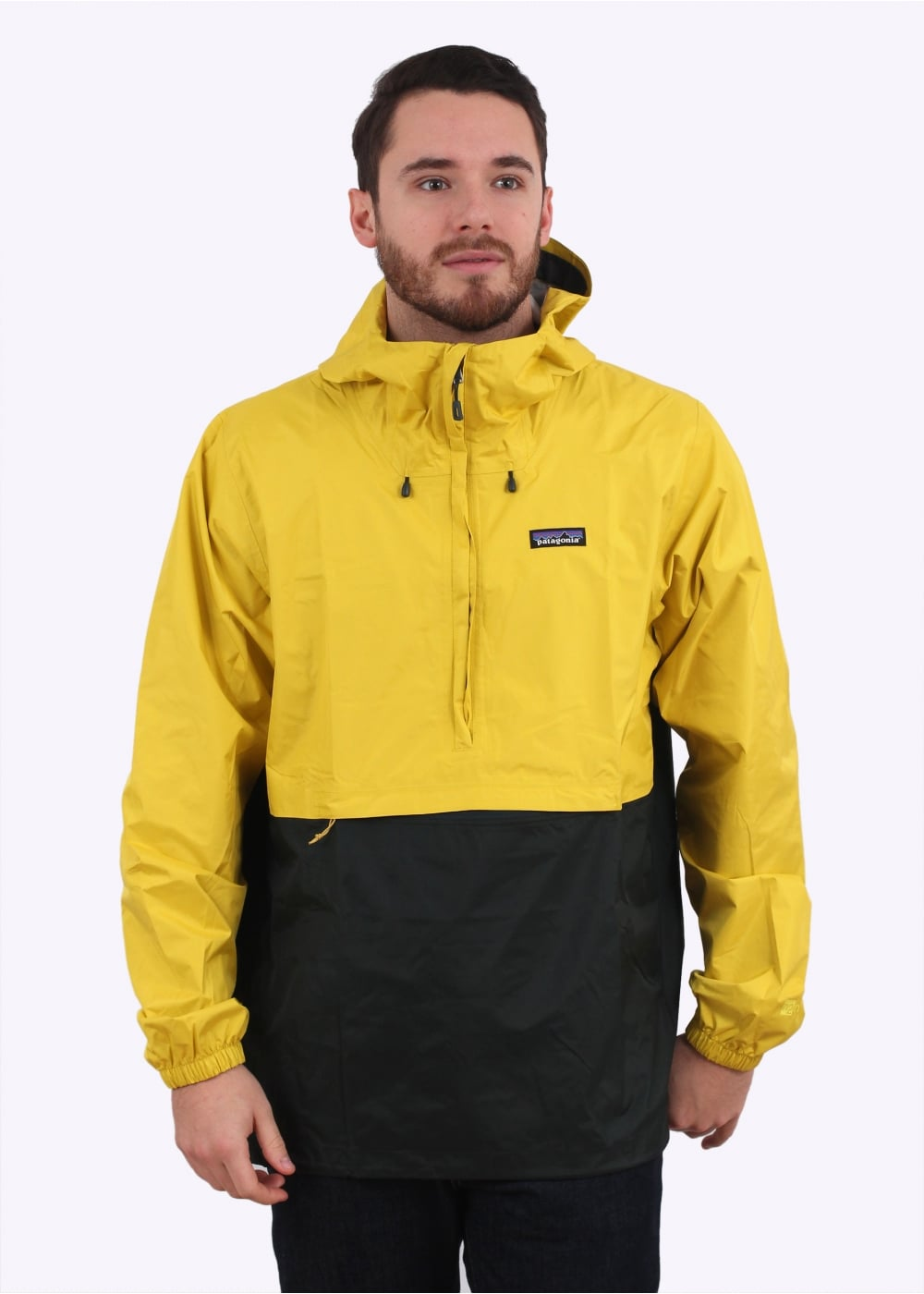 Patagonia Torrentshell Pullover Jacket - Yosemite Yellow - Jackets ...