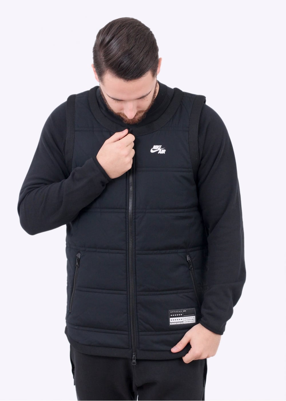 9ac19a9d042e Nike Apparel Air Top Vest - Black - Gilets from Triads UK