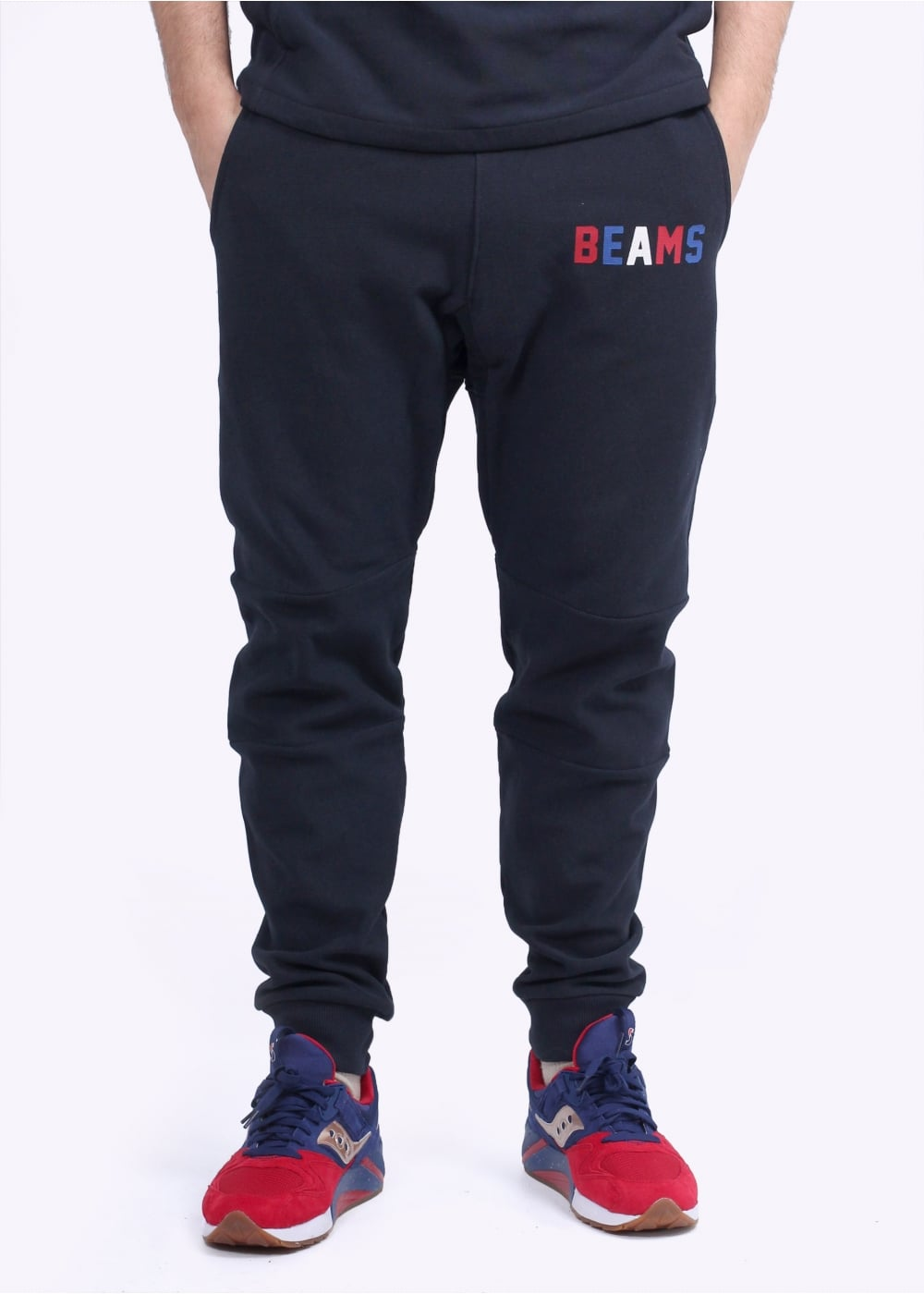 3efa0ecbae25 Champion x BEAMS Sweatpants - Navy - Triads Mens from Triads UK