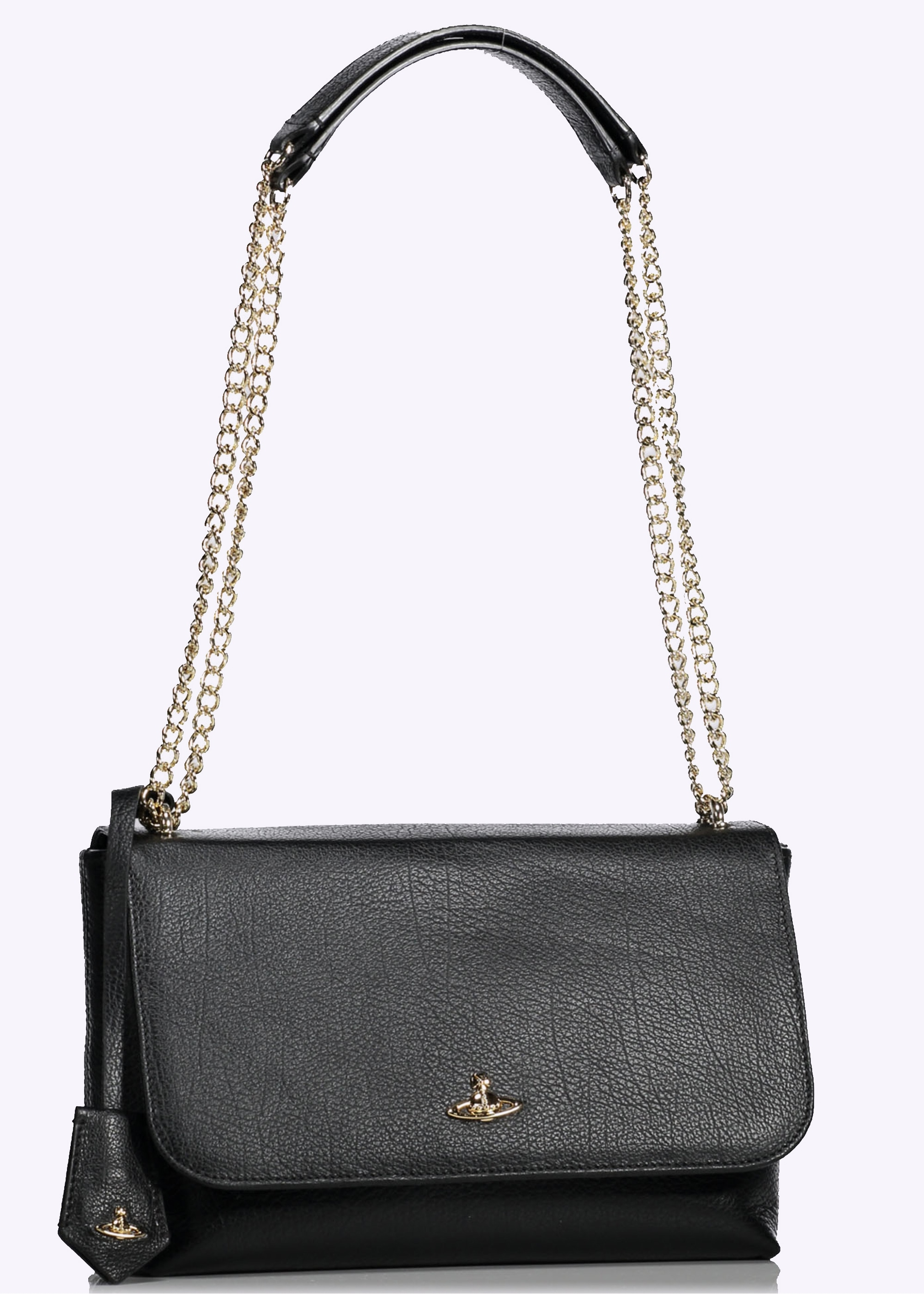 bf2401bb5a Vivienne Westwood Accessories Balmoral Bag With Flap - Black ...
