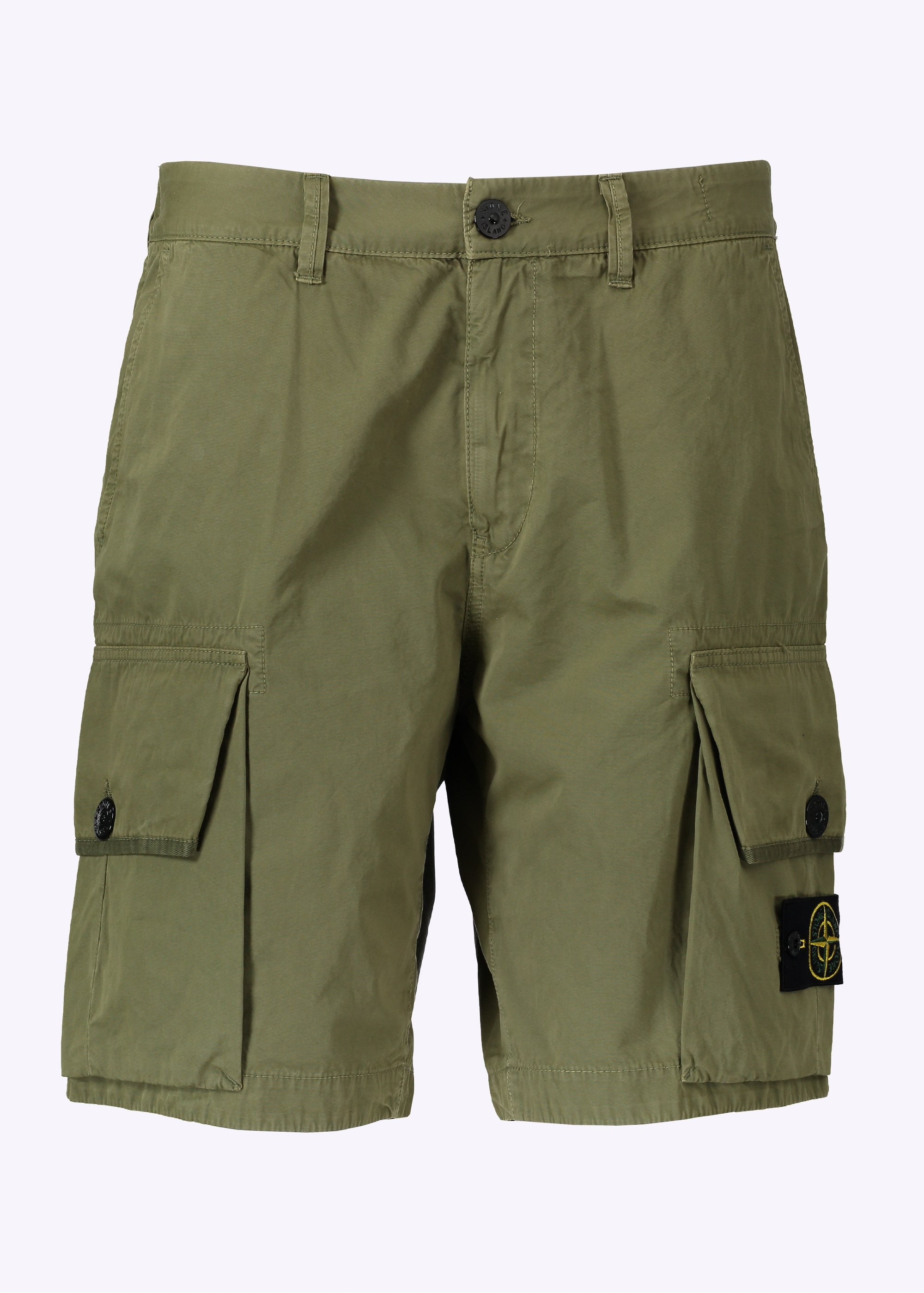 Stone Island Cargo Shorts - Military Green - Triads Mens from Triads UK ac54474f71d