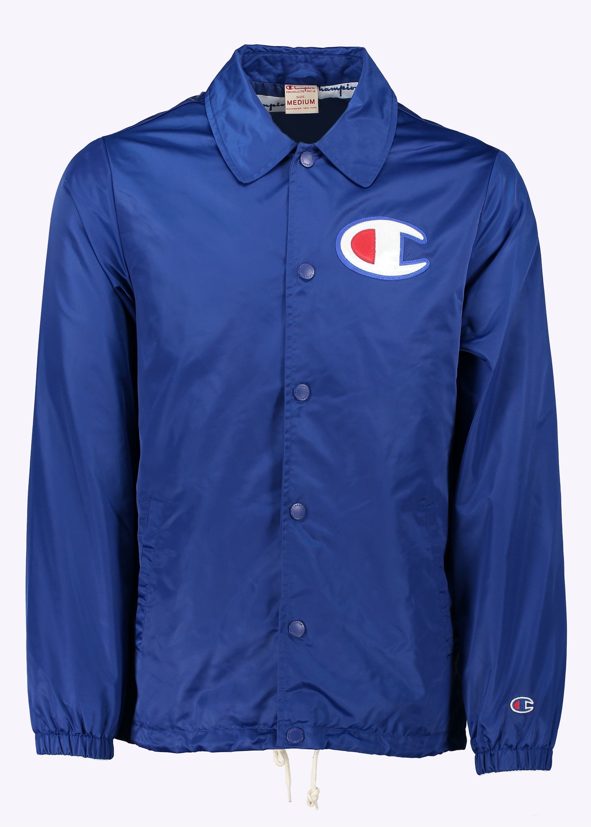 new products price remains stable buy real Champion Coach Jacket - Blue