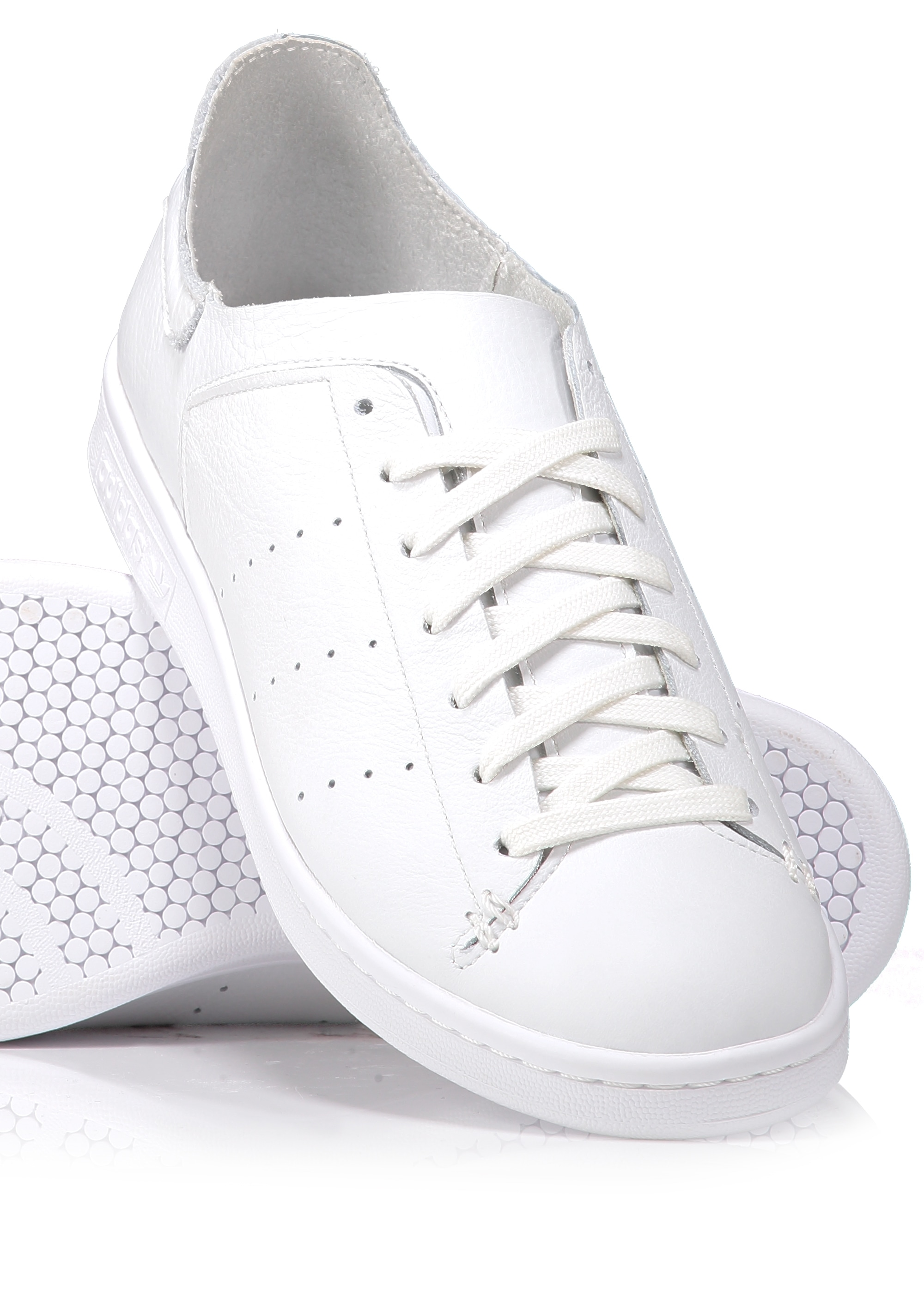 Herren | Adidas Originals Stan Smith Lea Sock Weiß,www
