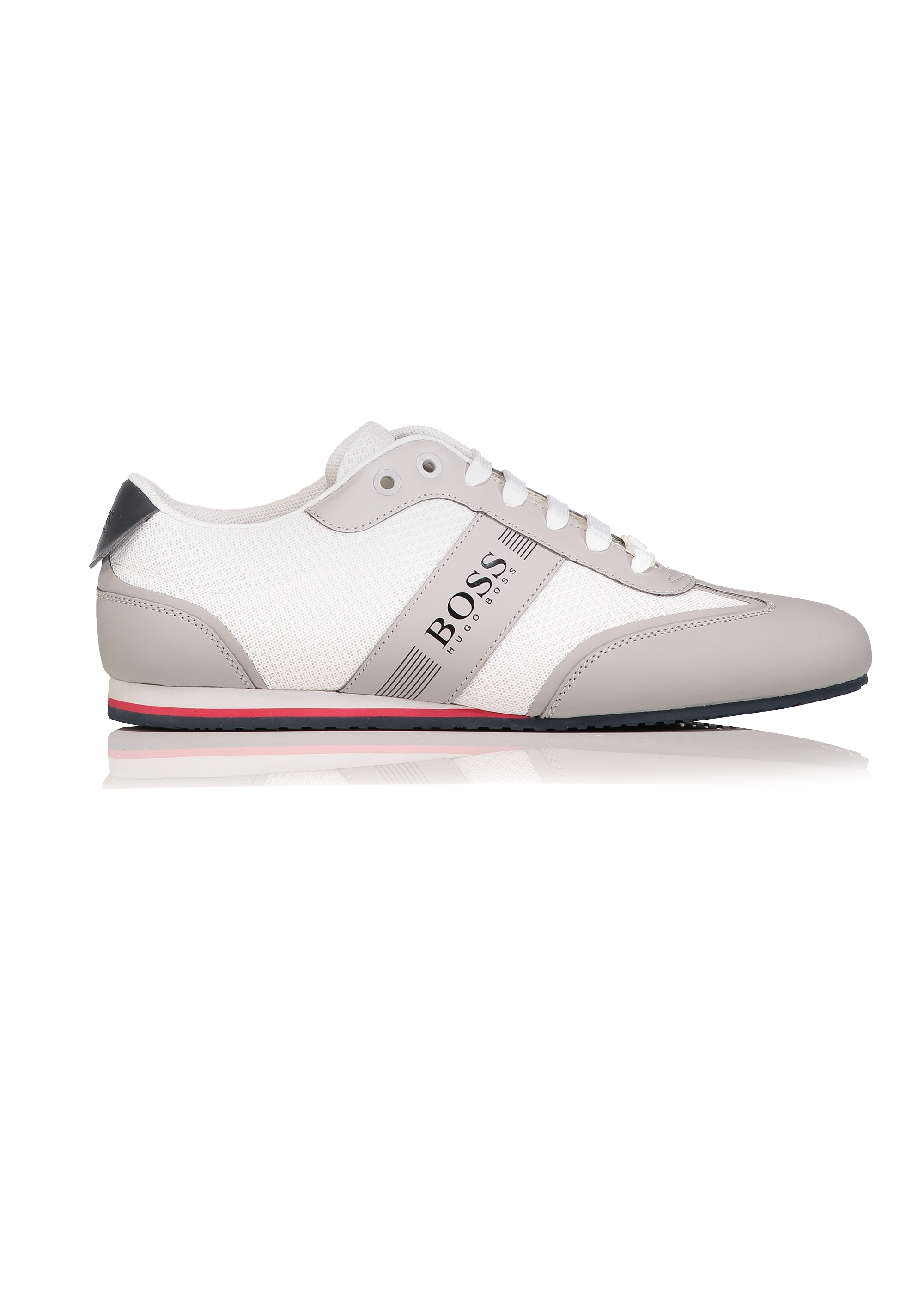 order online shop for official limpid in sight BOSS Lighter Low Trainers - White