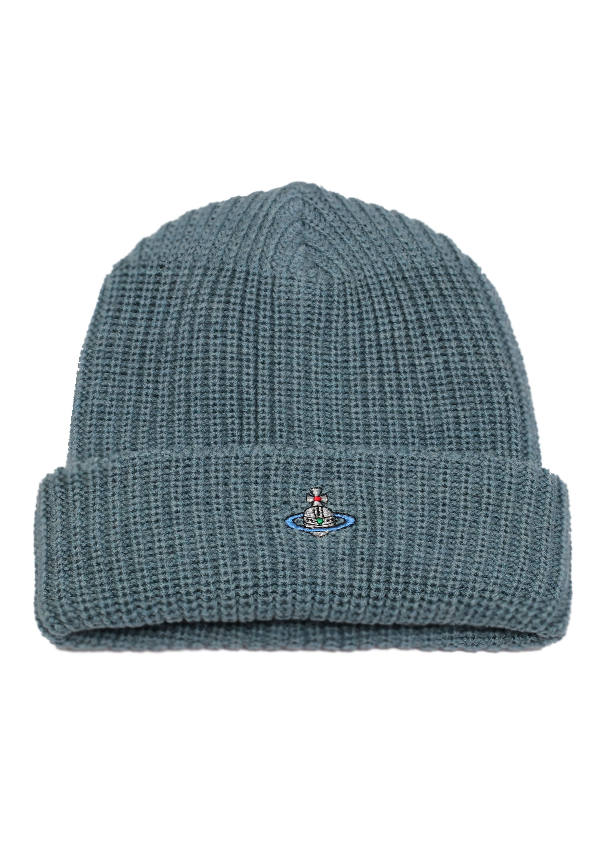 Vivienne Westwood Mens Beanie Hat - Green - Triads Mens from Triads UK 086d54555ab