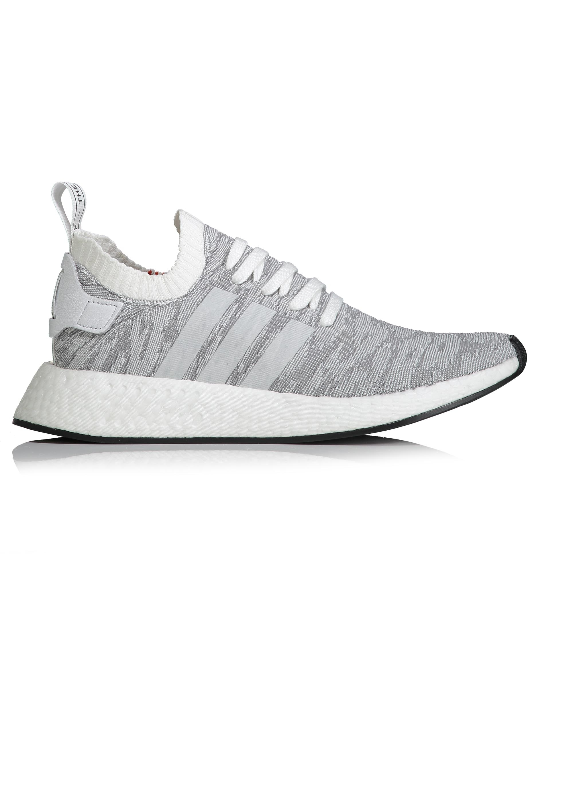 aac1e3f86685 adidas Originals Footwear NMD R2 PK - White   Black - Trainers from ...