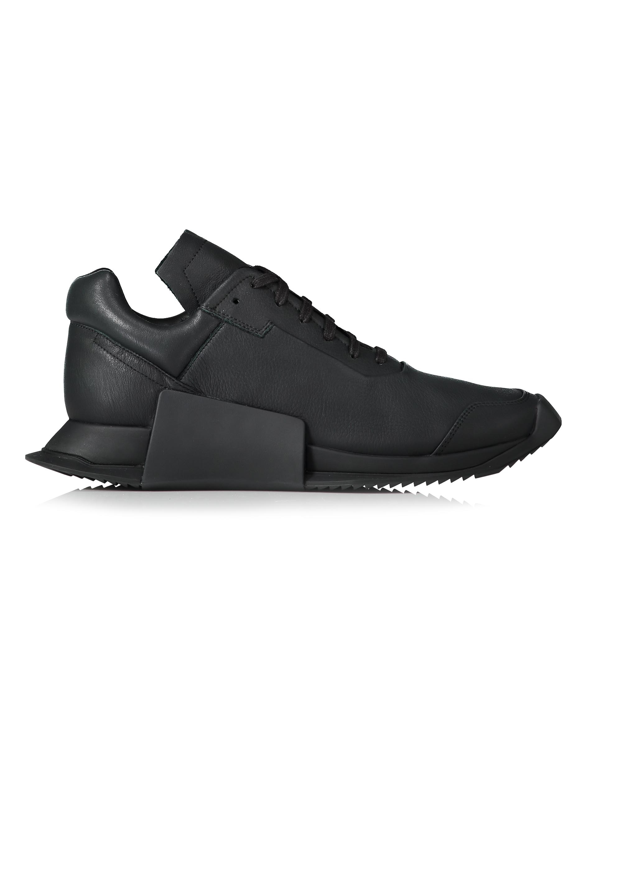 Adidas x Rick Owens Low Level Runner Low Owens II Black / Milk Trainers 948ab4