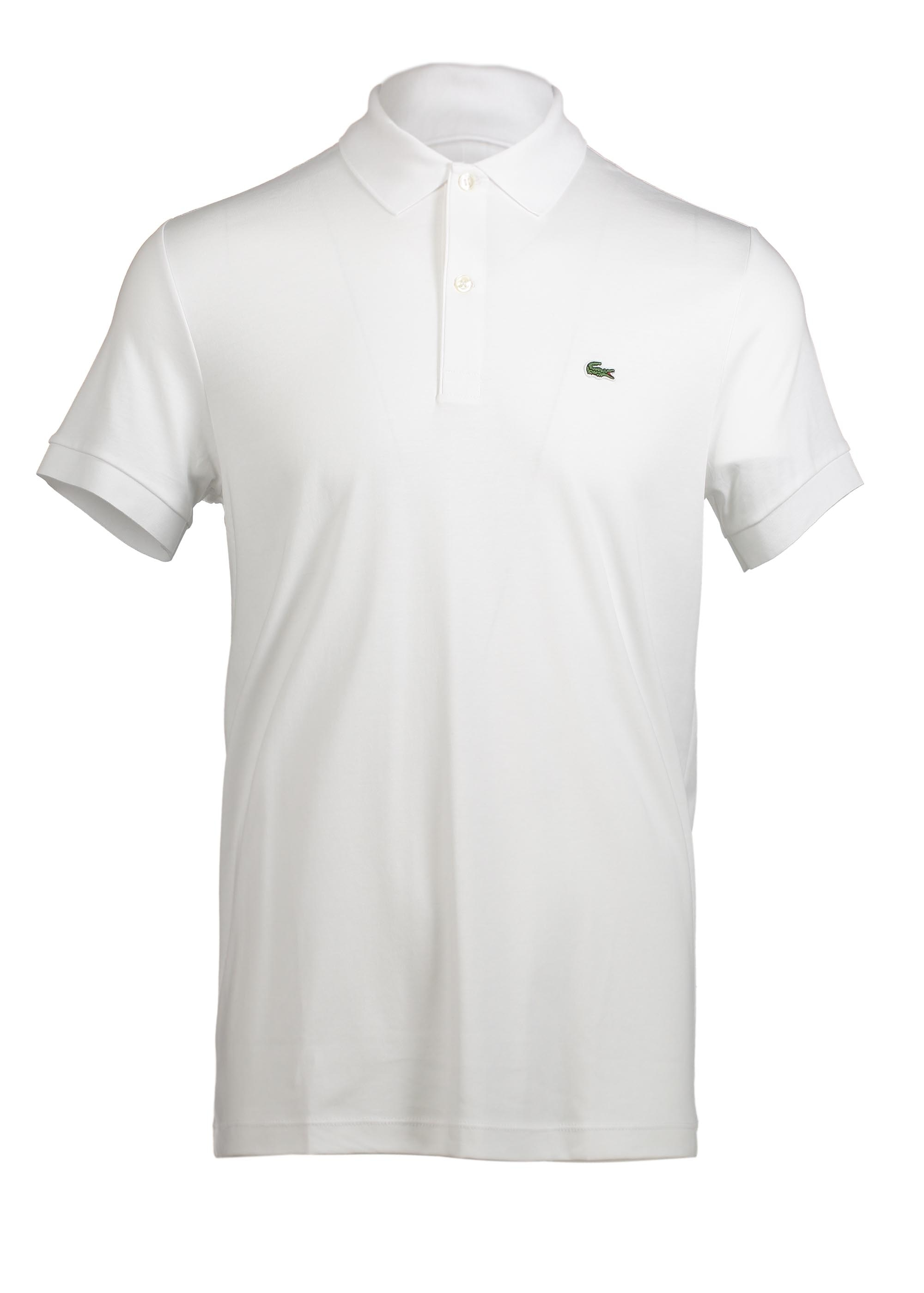 b458cb2141a1 Lacoste Polo Shirt - White - Triads Mens from Triads UK