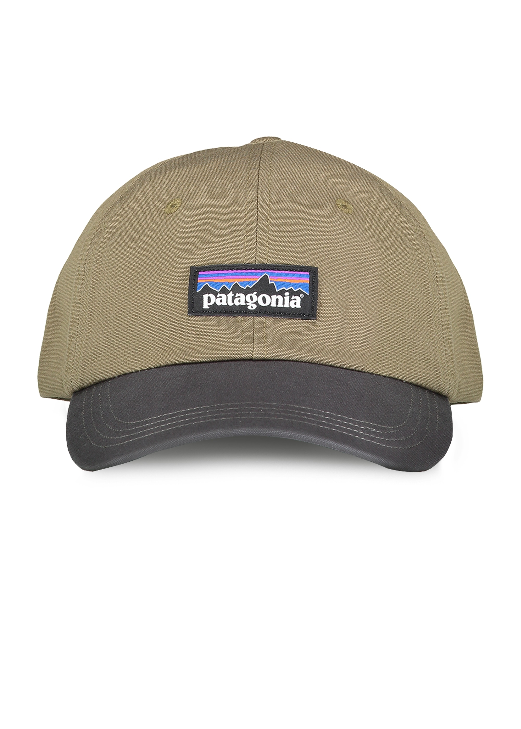Patagonia P-6 Label Trad Cap - Dark Ash - Headwear from Triads UK 239b6efdfe4