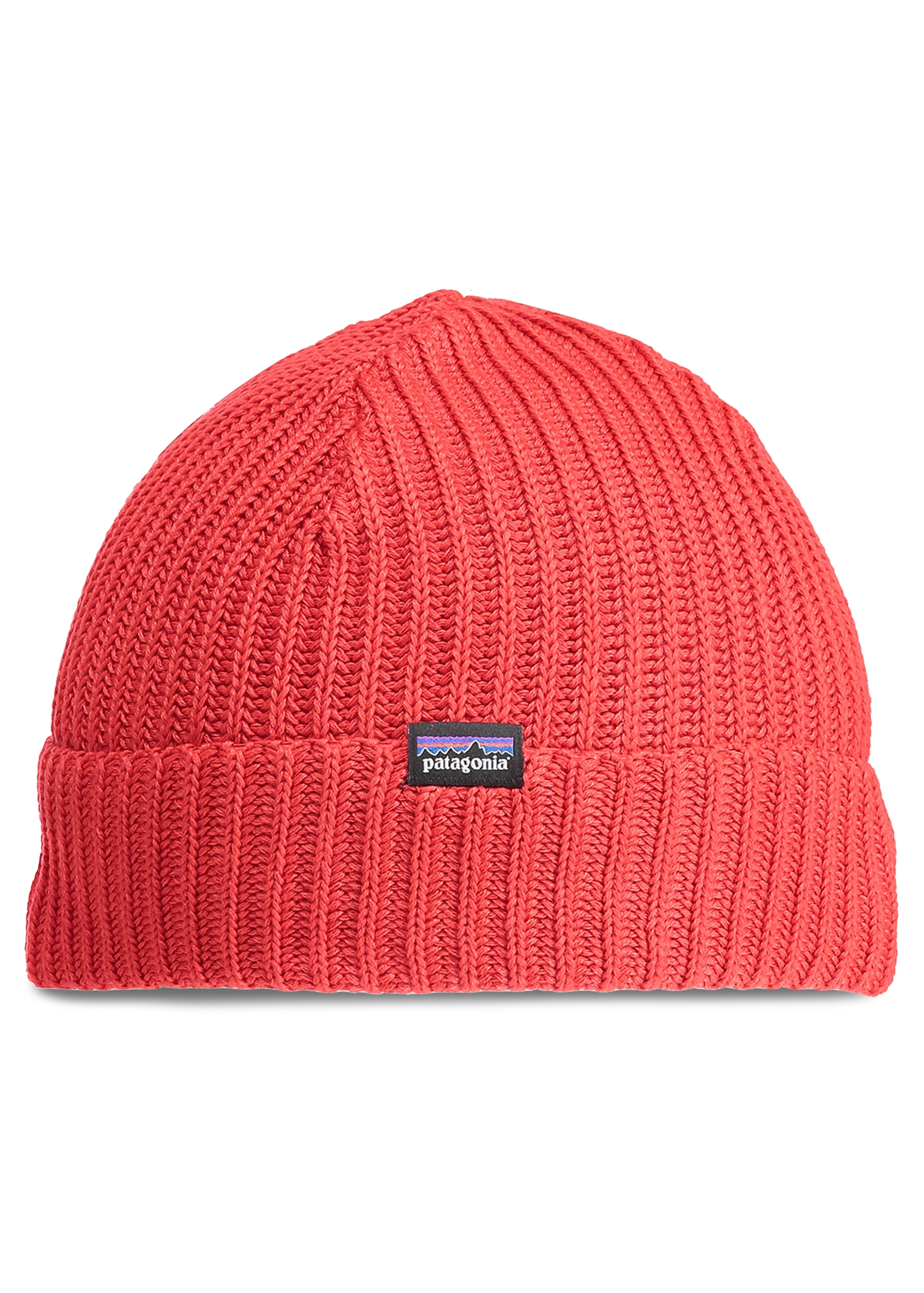 1ea3f4c737f Patagonia Fishermans Rolled Beanie - Fire - Headwear from Triads UK