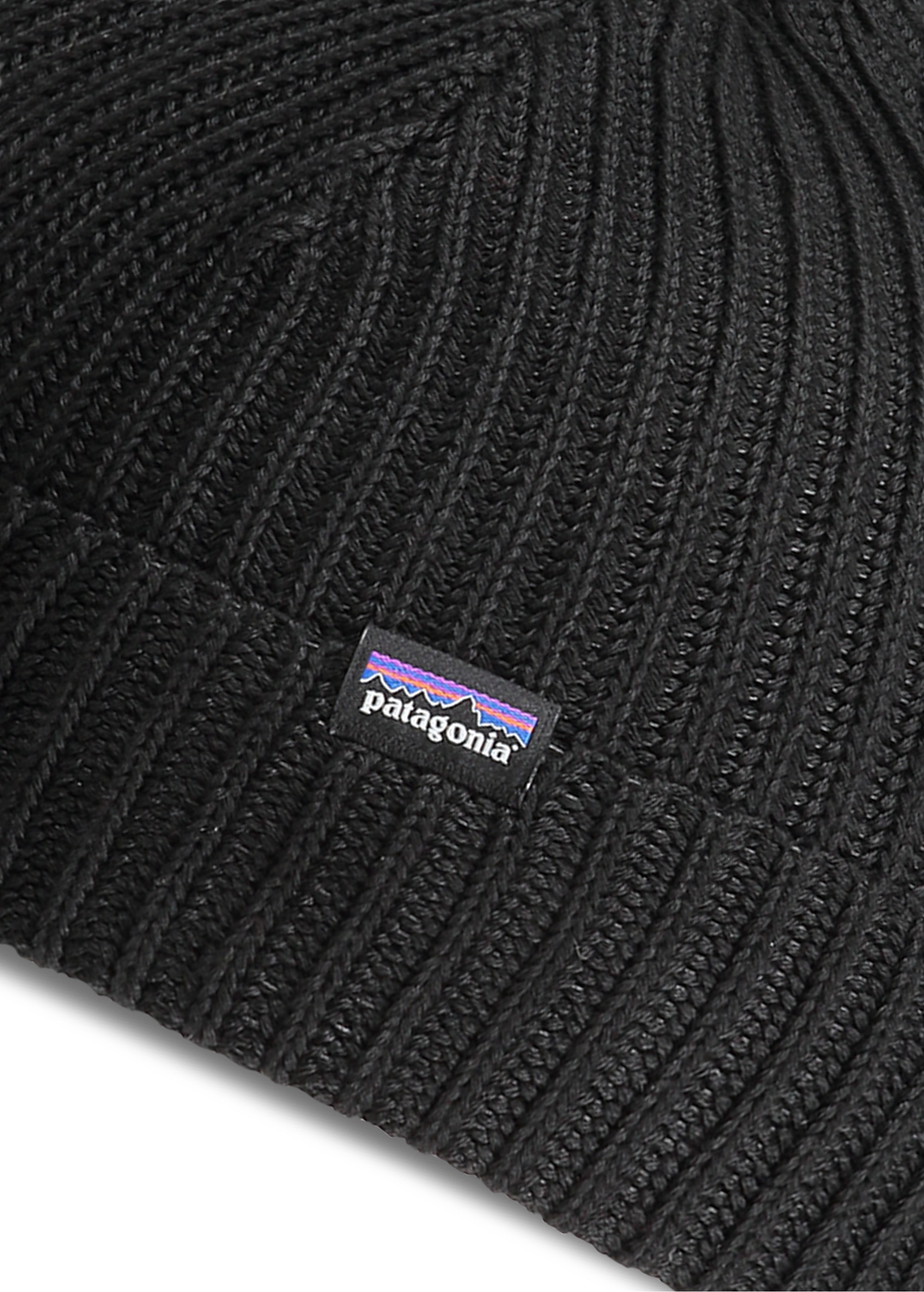 0eb4d240dc7 Patagonia Fishermans Rolled Beanie - Black - Headwear from Triads UK