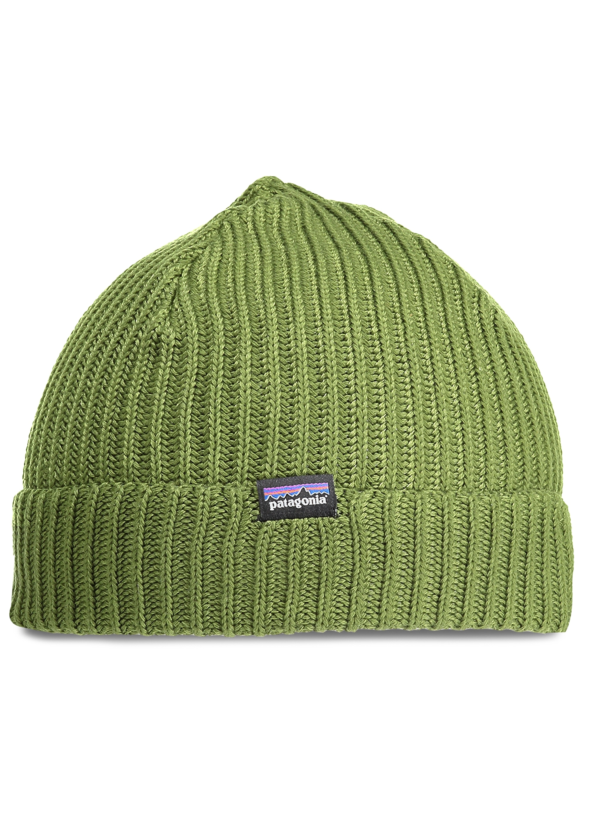 7371f755d1f Patagonia Fishermans Rolled Beanie - Glade Green - Headwear from ...