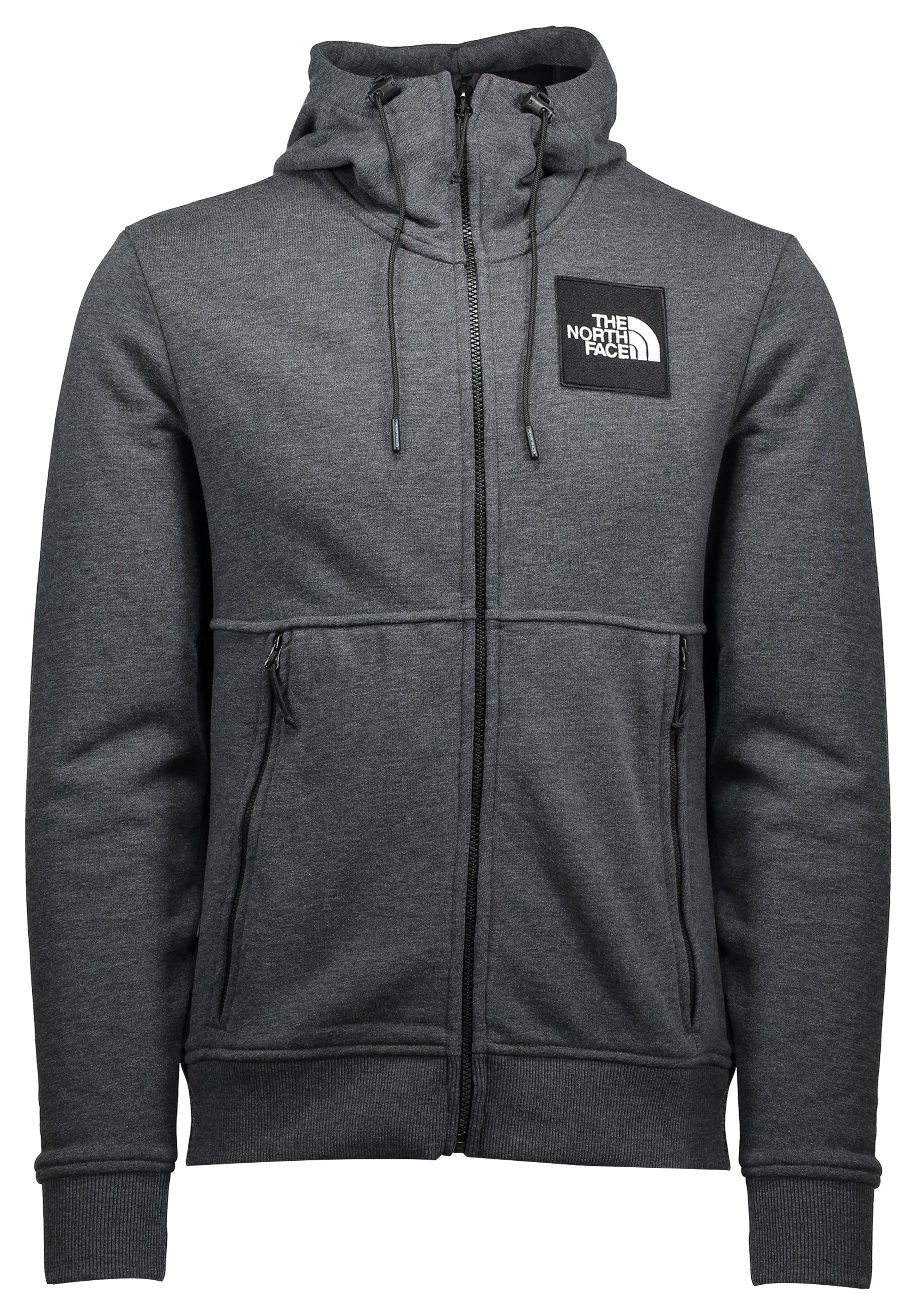 0f93f2b59 The North Face Fine Full Zip Hoodie - Dark Grey - Triads Mens from ...