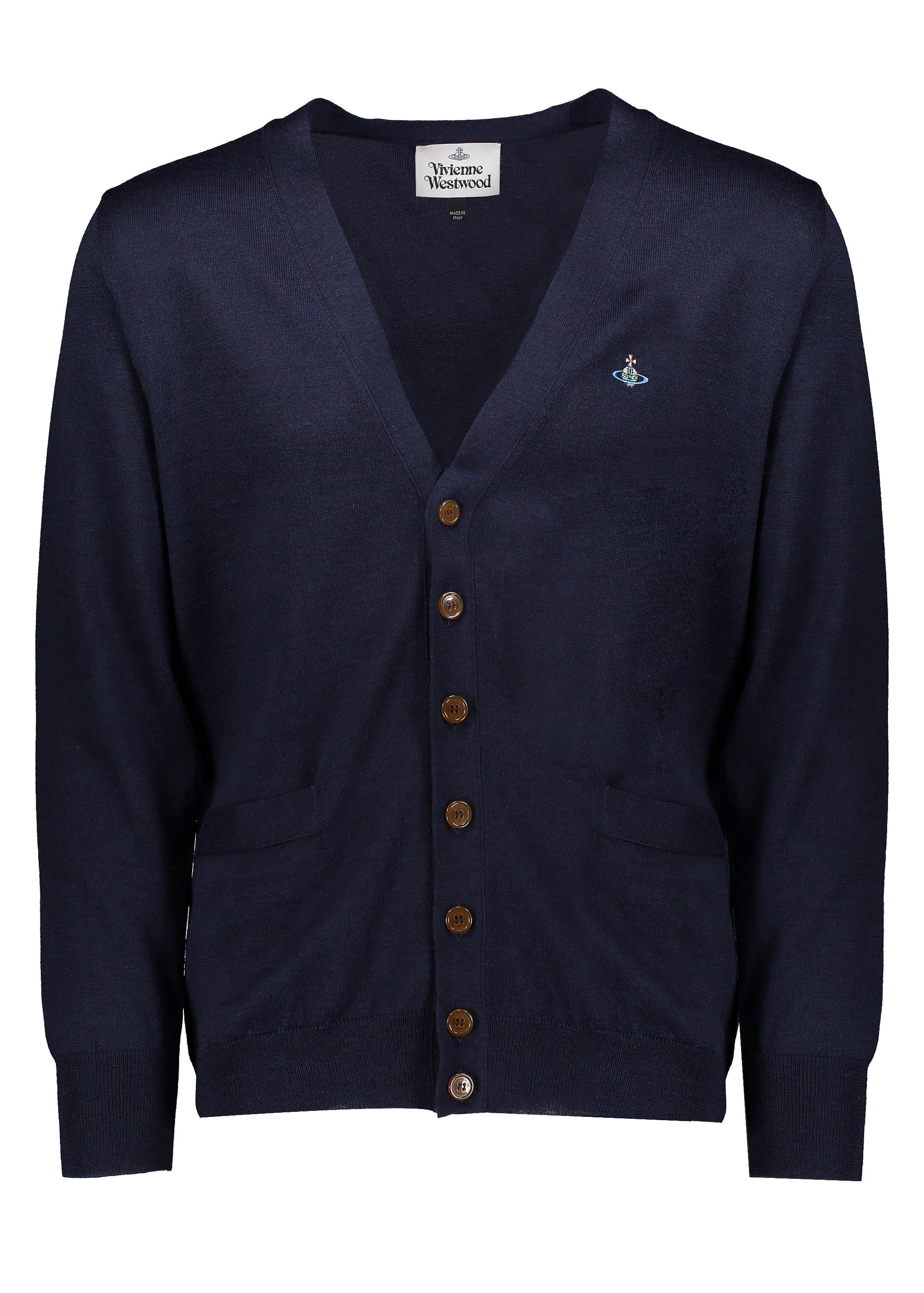 Vivienne Westwood Mens Cardigan - Navy - Cardigans from Triads UK