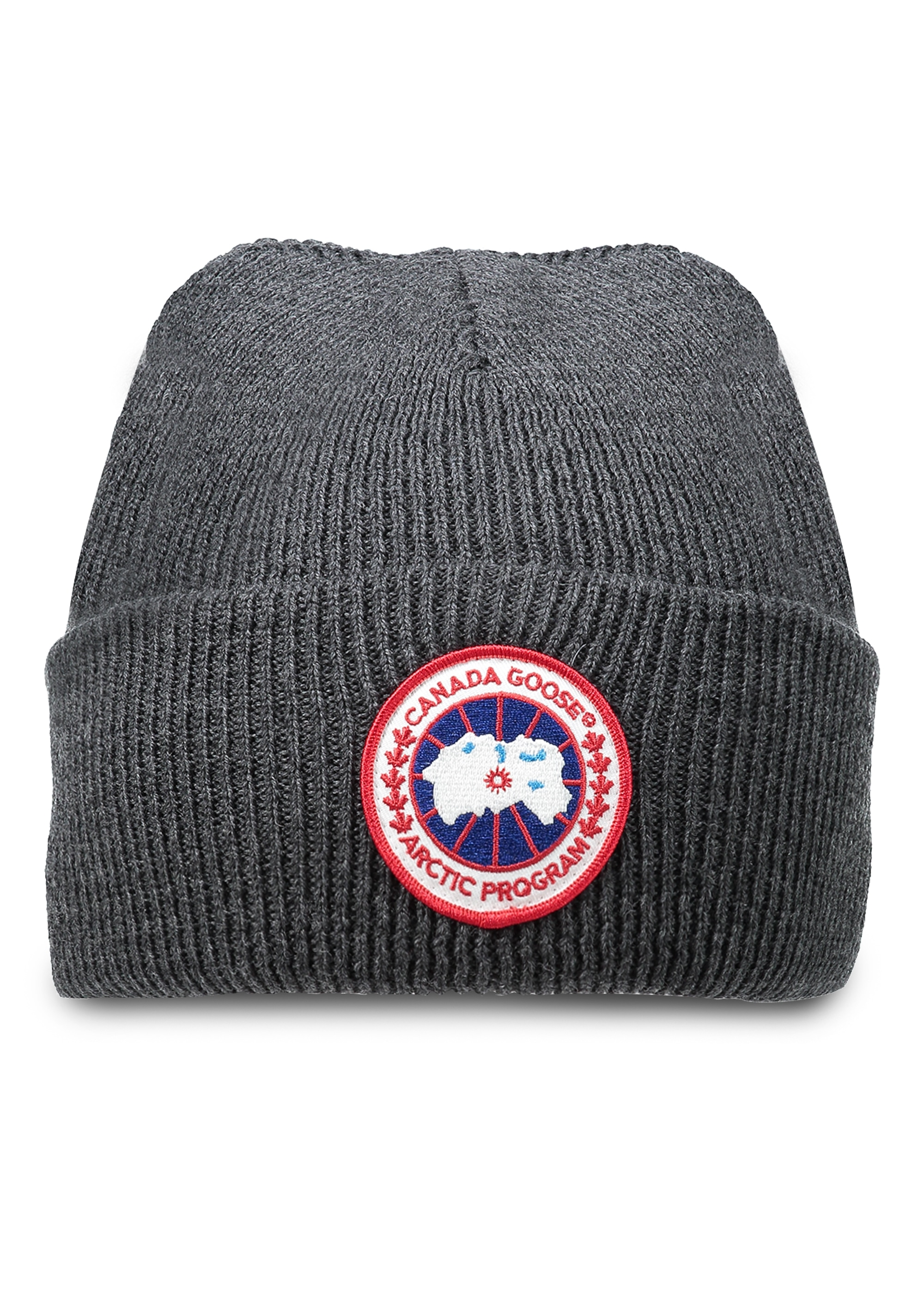 239536ba63d8d6 Canada Goose Arctic Disc Toque Hat - Iron - Headwear from Triads UK