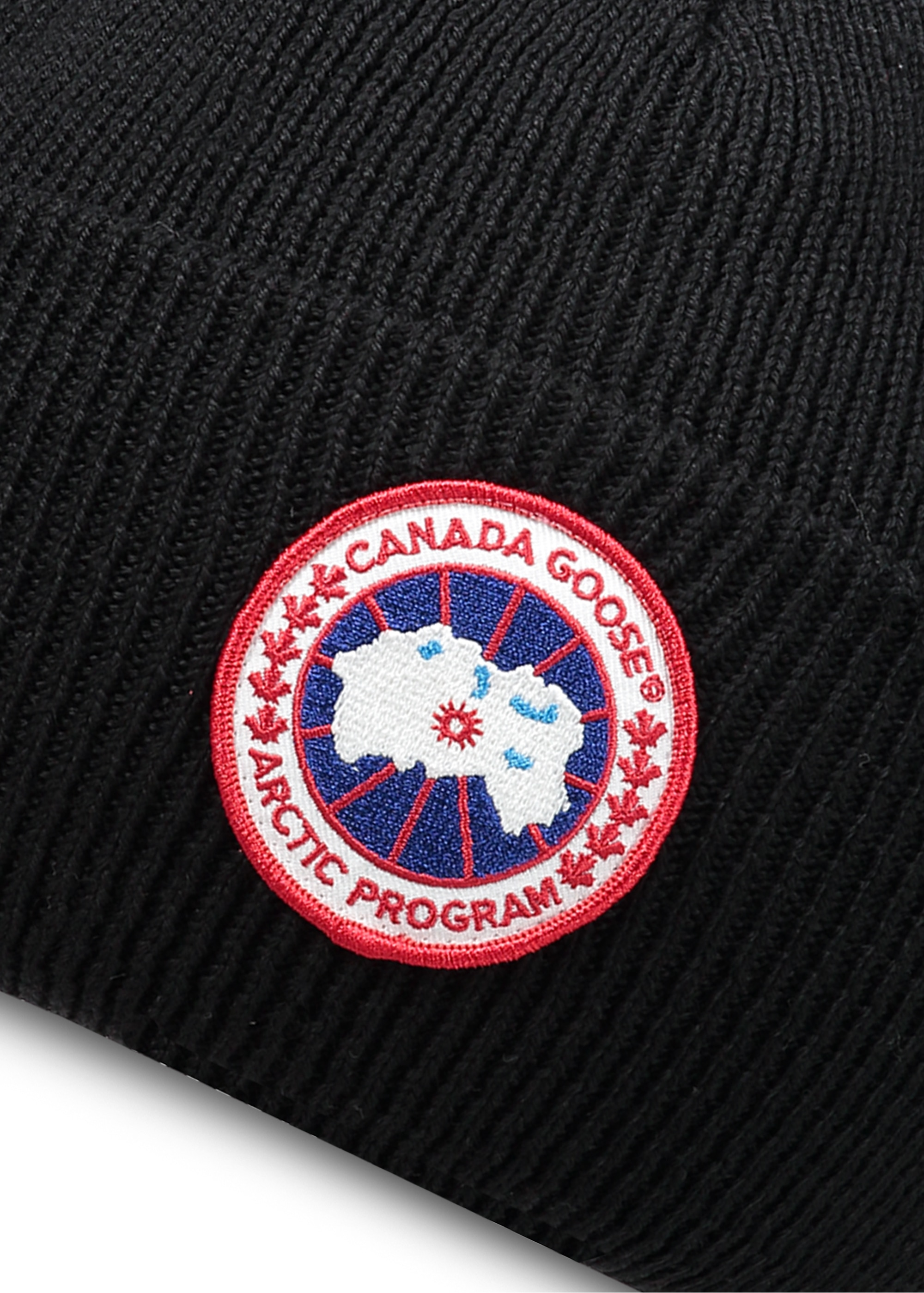 49a618701aa5 Canada Goose Arctic Disc Toque Hat - Black - Headwear from Triads UK