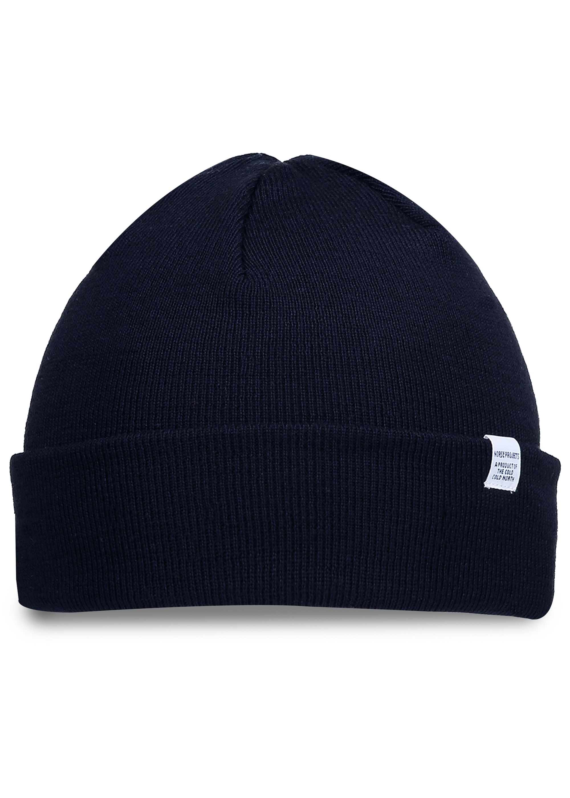 2d067b43dd4 Norse Projects Norse Top Beanie - Navy - Headwear from Triads UK