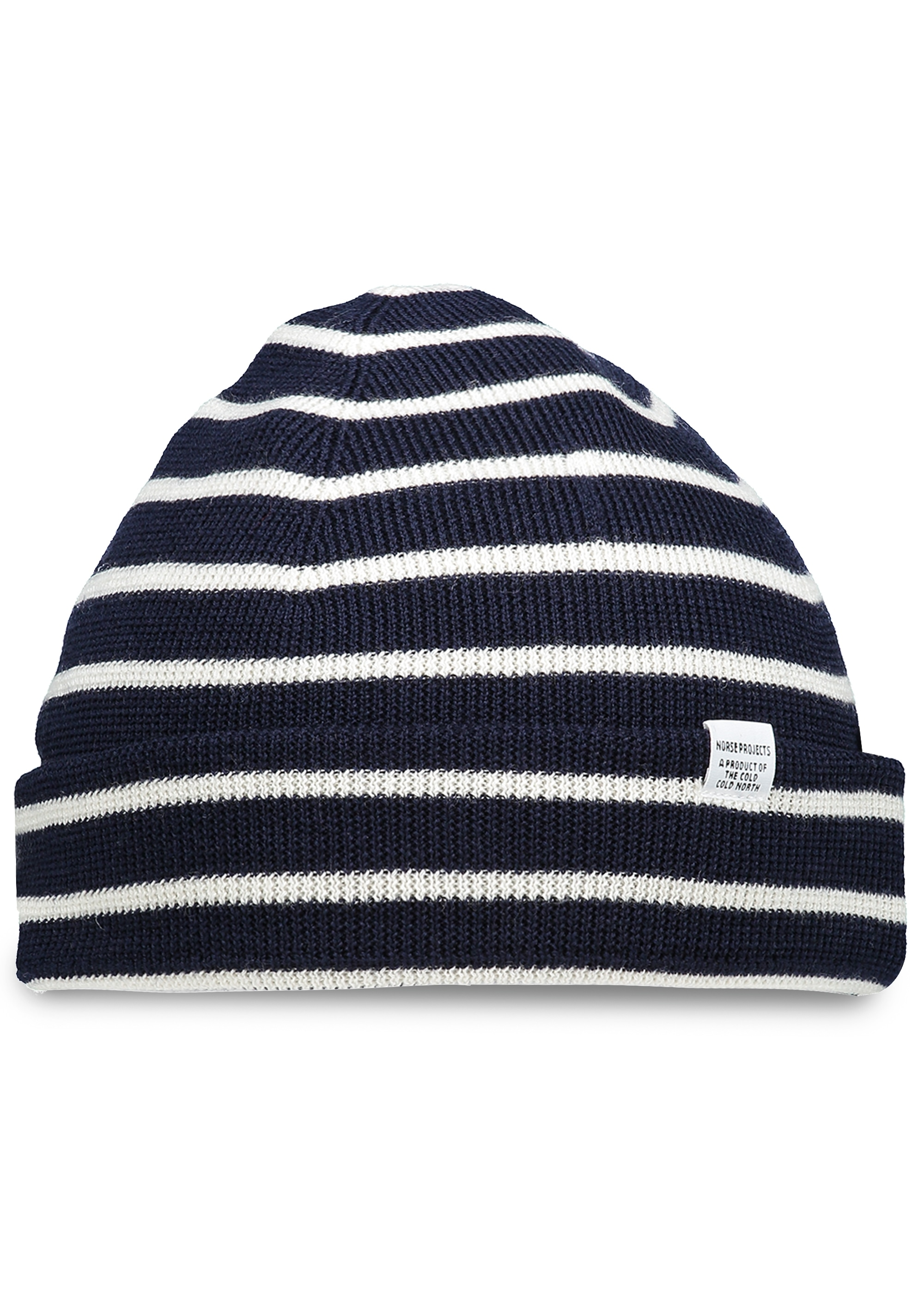 59733673c45 Norse Projects Classic Normandy Beanie - Navy - Headwear from Triads UK