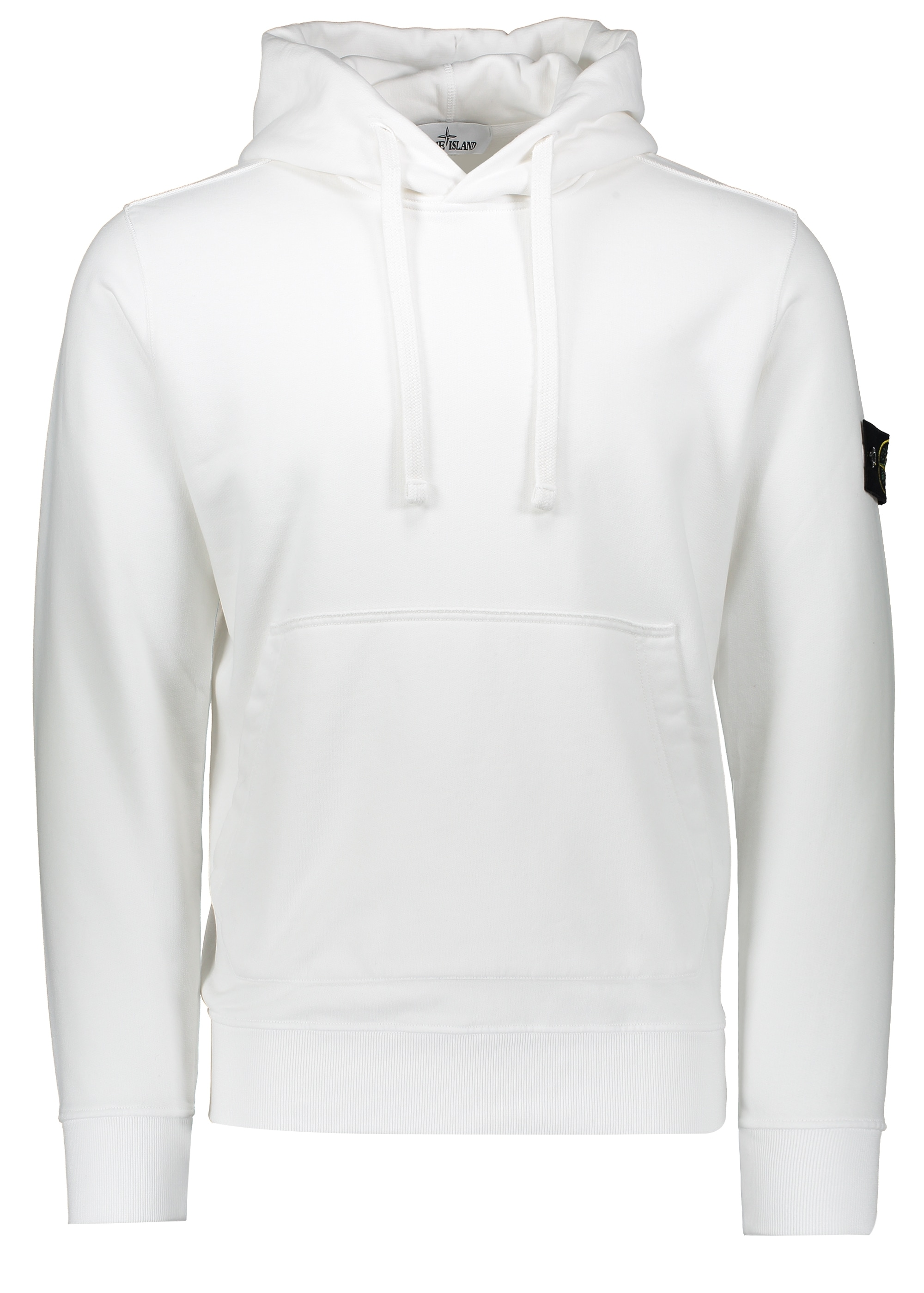 8cb21f9fcaa Stone Island Hooded Sweatshirt - White - Hoodies from Triads UK
