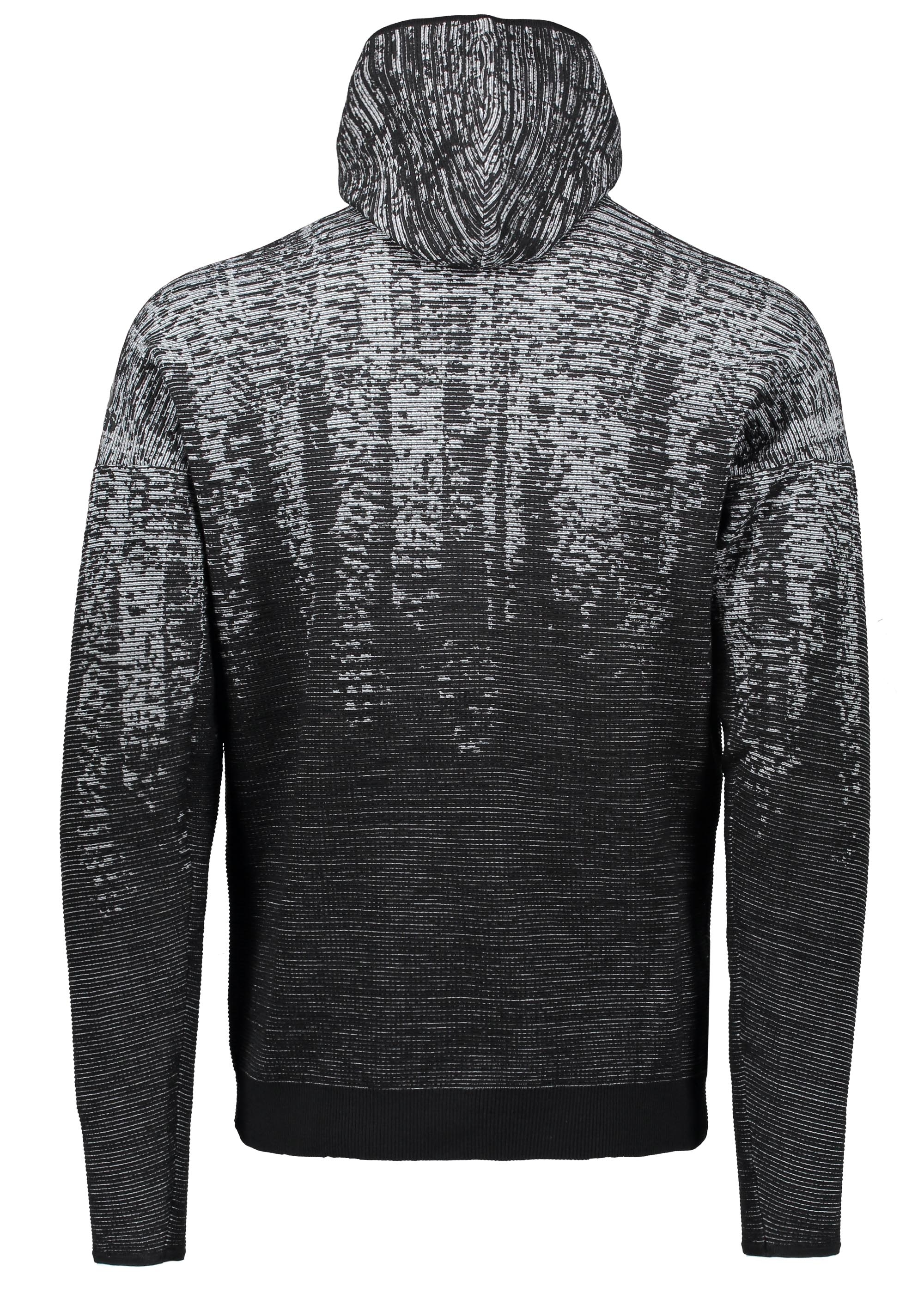 94bd6927a adidas Originals Apparel ZNE Pulse Knit Hoody - Black / White ...