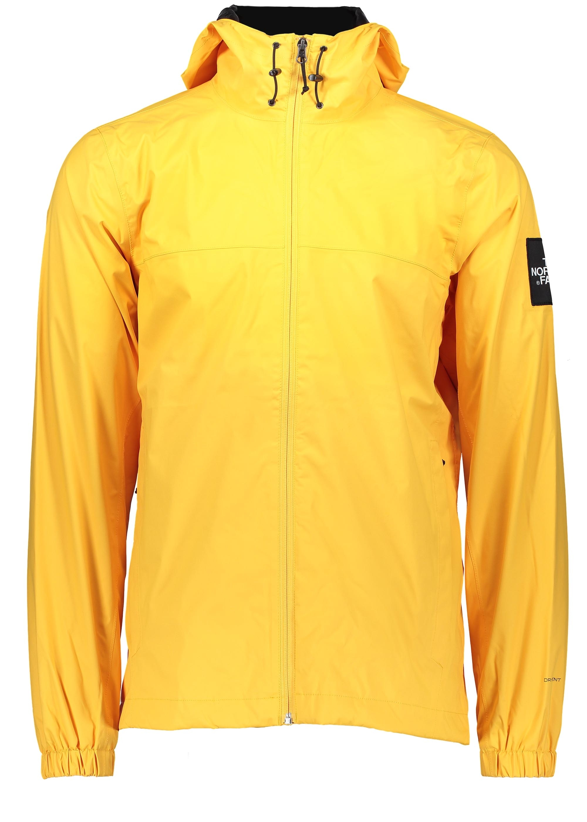 north face yellow
