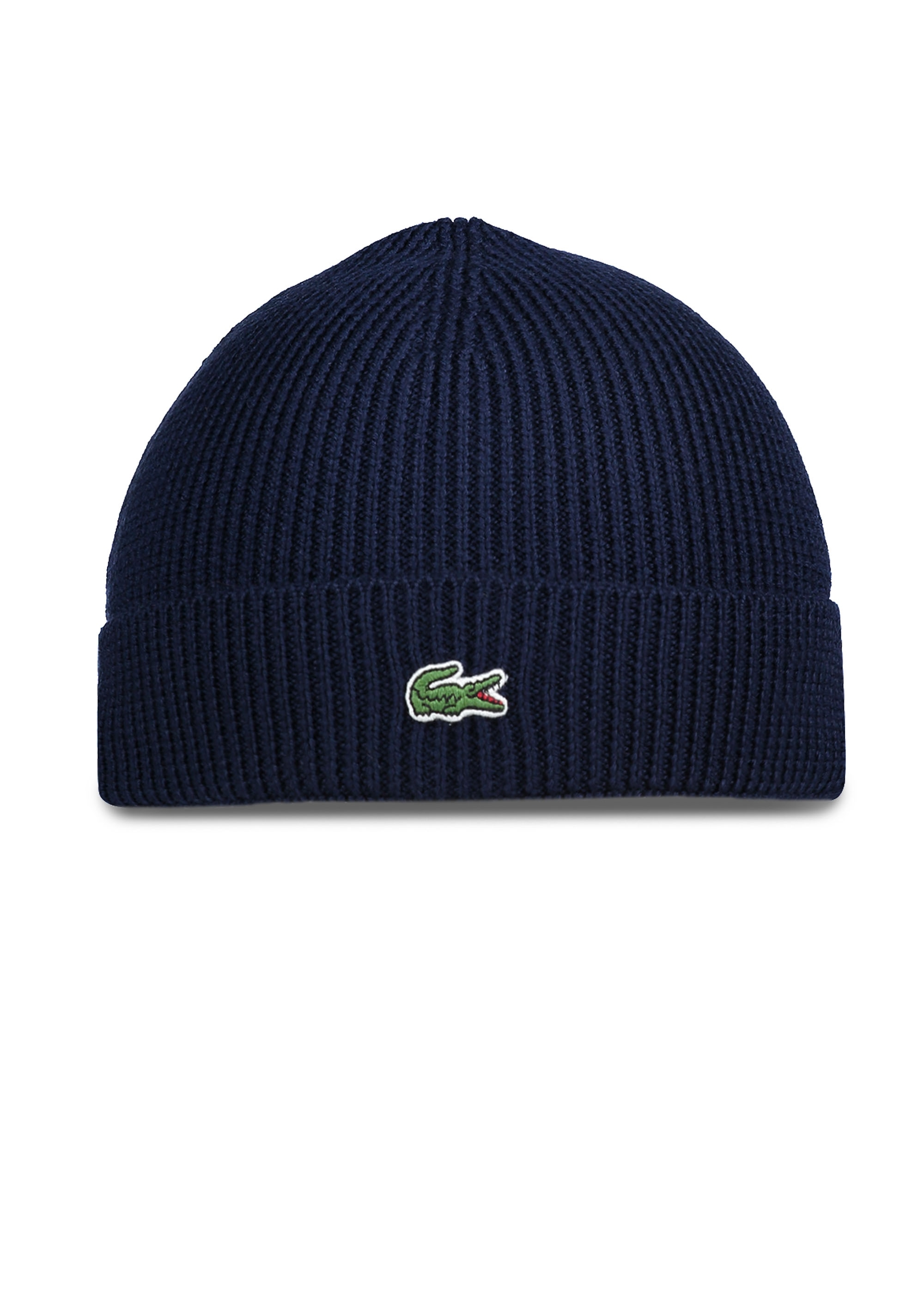 Lacoste Beanie Hat - Navy Blue - Headwear from Triads UK 3e6c903ac2a
