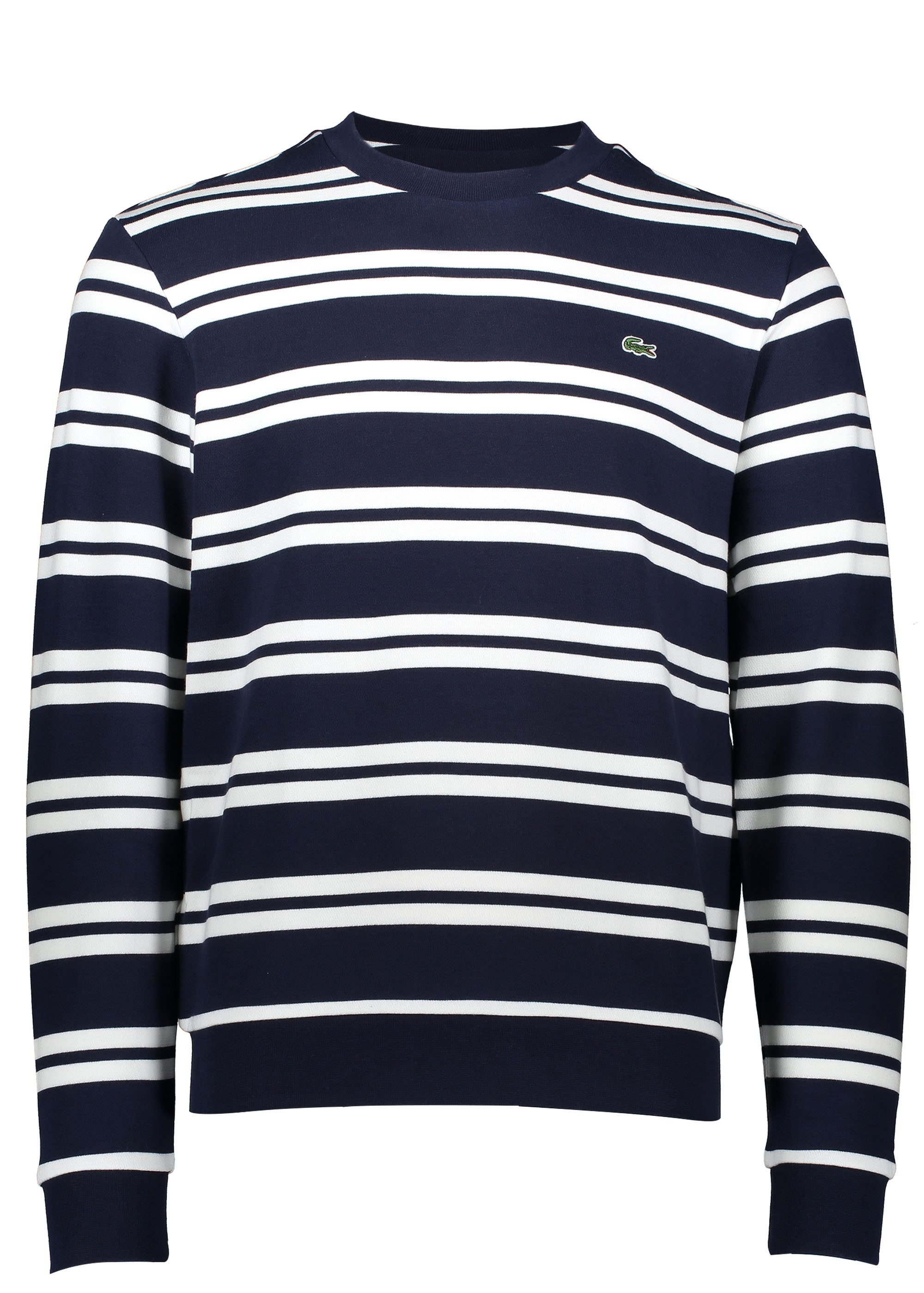 32e27c75 Lacoste Nautical Stripe Sweat - Navy Blue - Jumpers from Triads UK