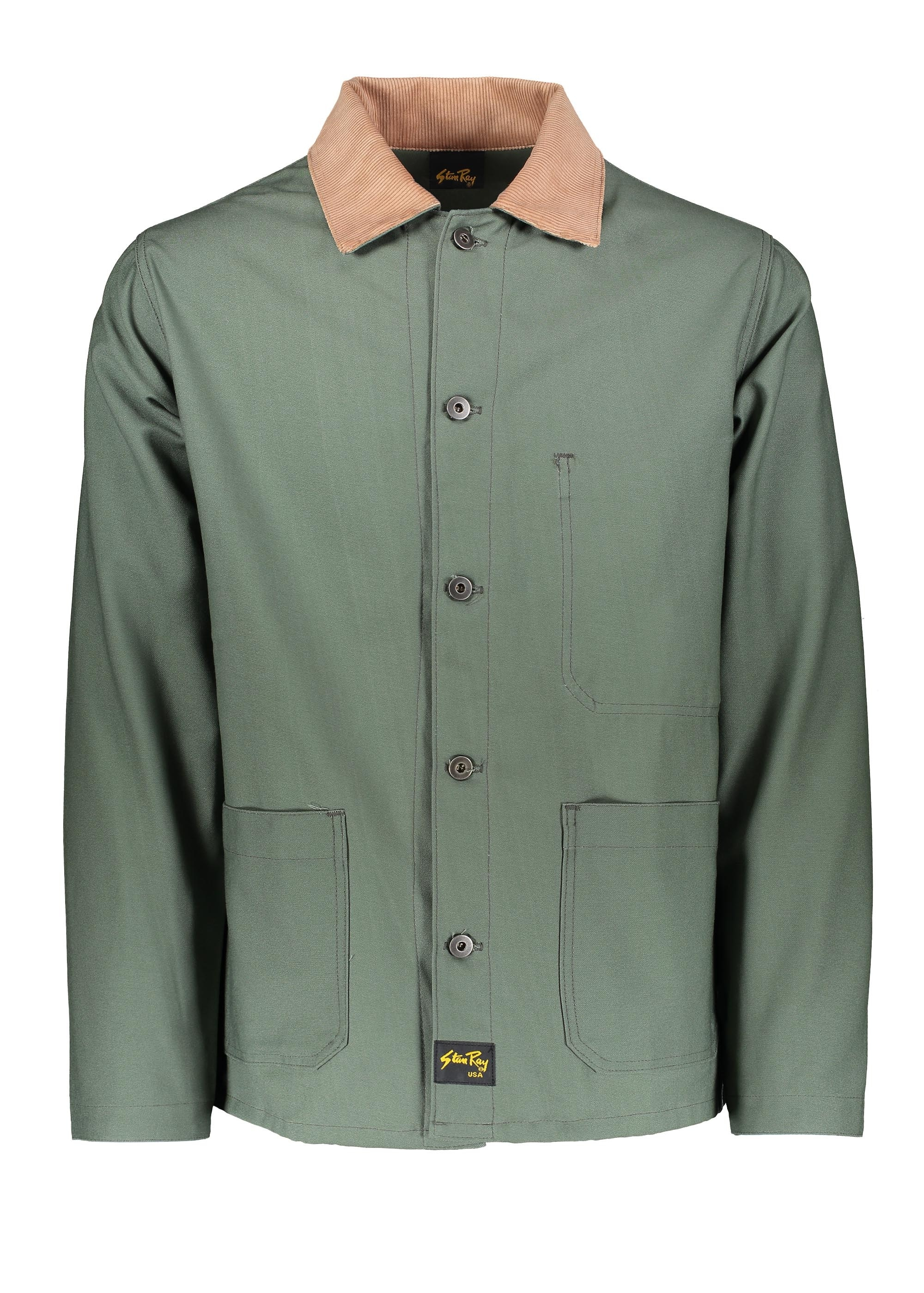 47f8172a5e55 Stan Ray Archive Jacket - Olive - Jackets from Triads UK