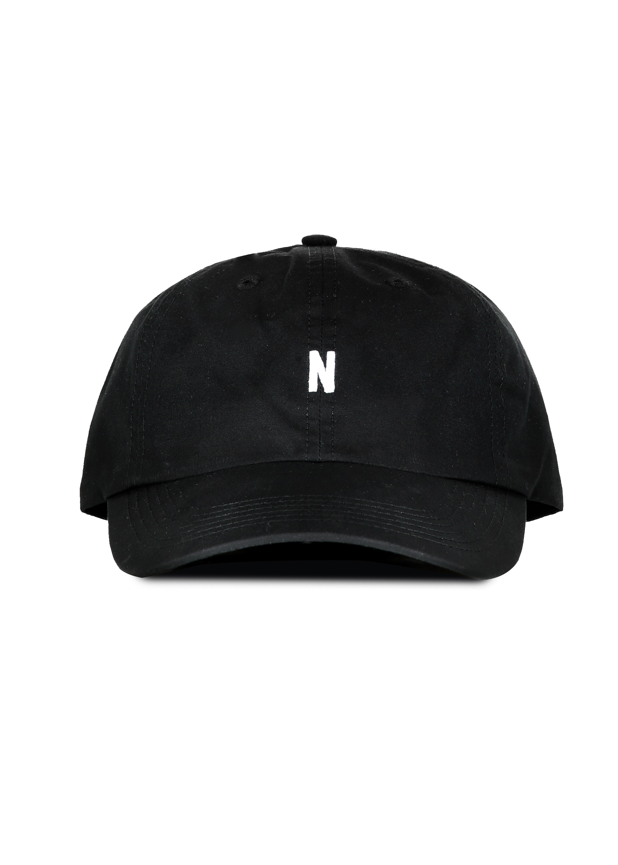 837ea5245e Norse Projects Norse Sports Cap - Black - Headwear from Triads UK