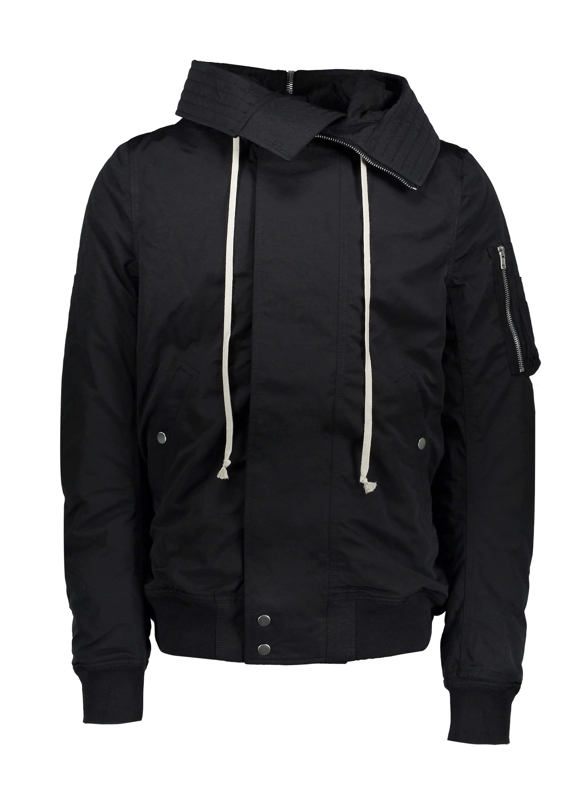 Rick Owens Drkshdw Woven Padded Bomber - Black - Triads Mens from ... 51bb1af844aaf