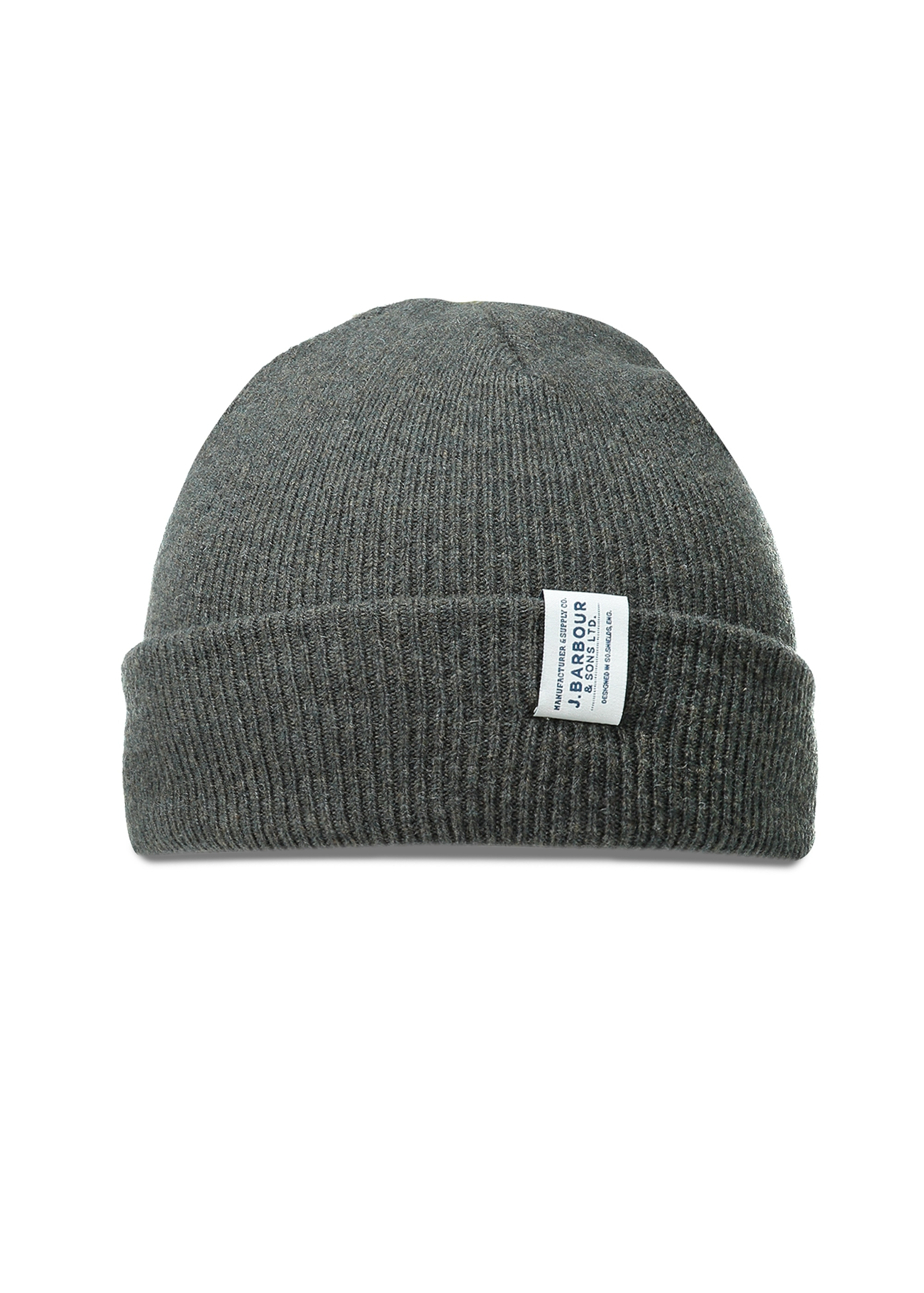 4381c2ea572 Barbour Lambswool Watch Cap - Olive - Headwear from Triads UK