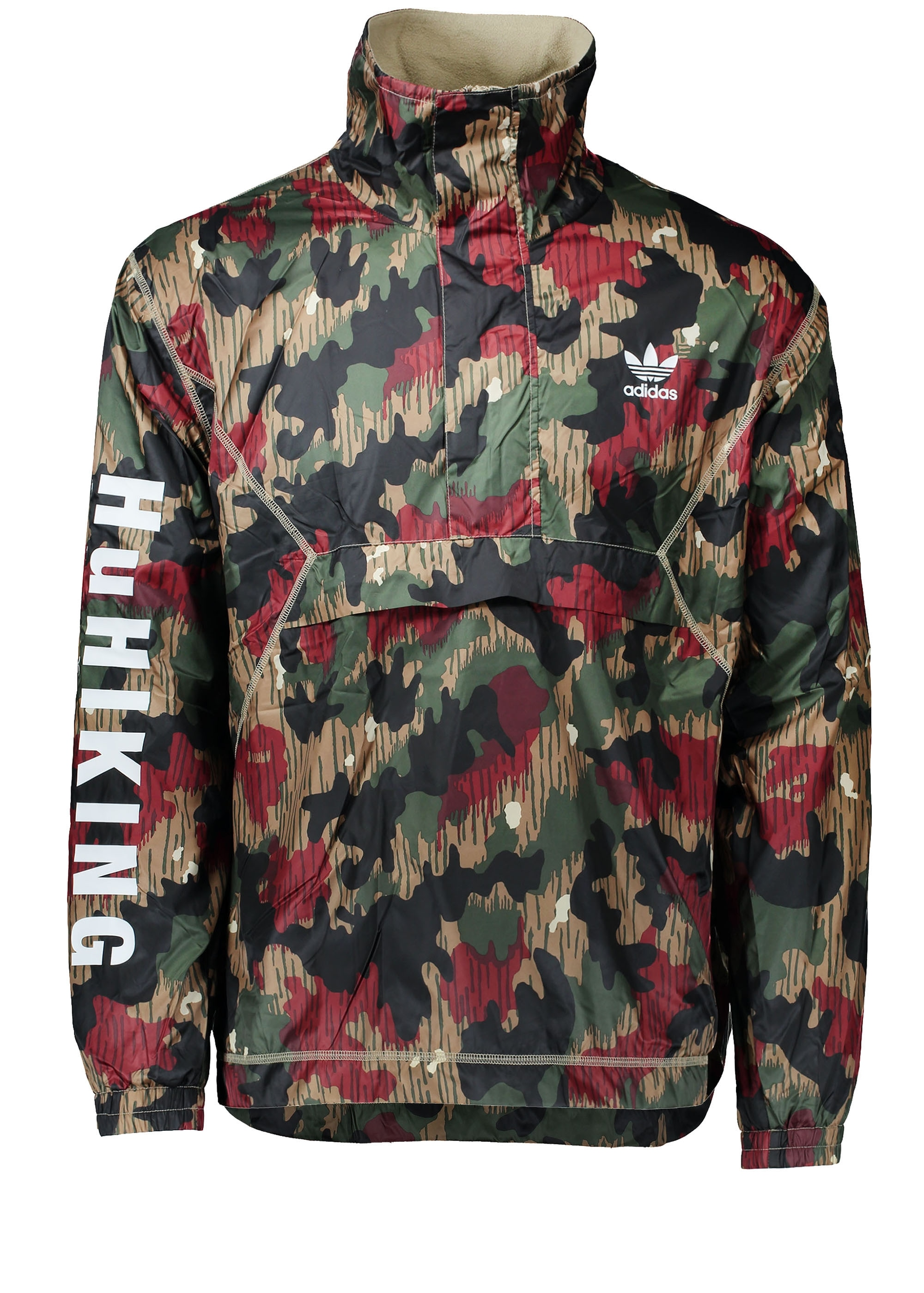 adidas originals apparel x pharrell windbreaker hz camo. Black Bedroom Furniture Sets. Home Design Ideas