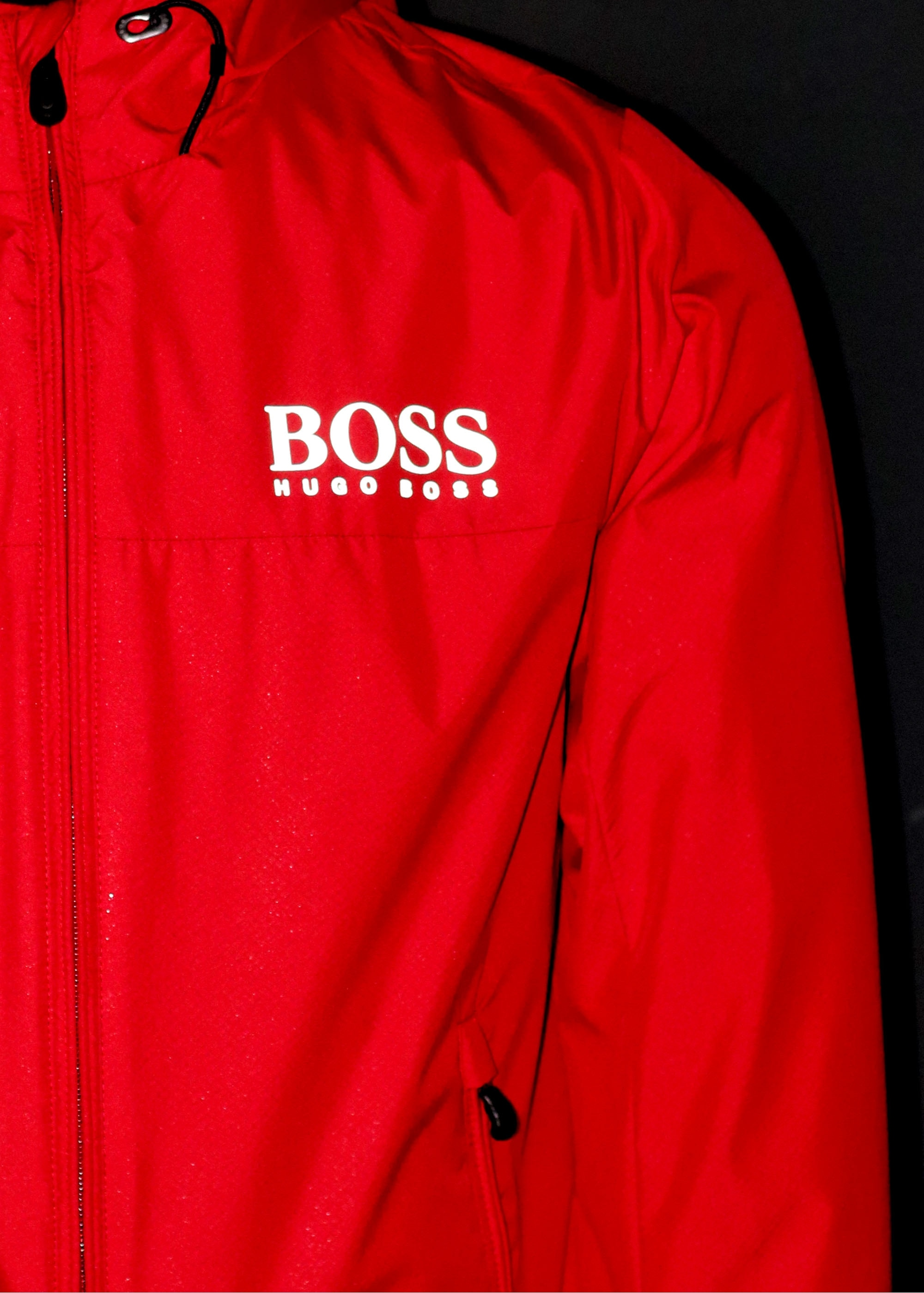 2390c166bac6 BOSS Jeltech Jacket - Medium Red - Jackets from Triads UK