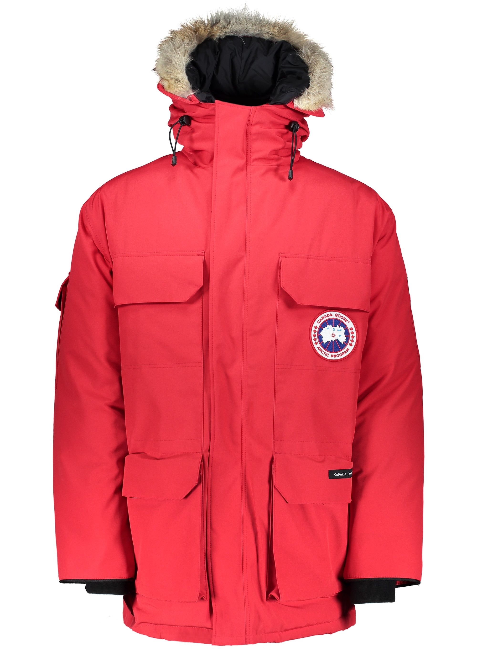 canada goose red expedition parka