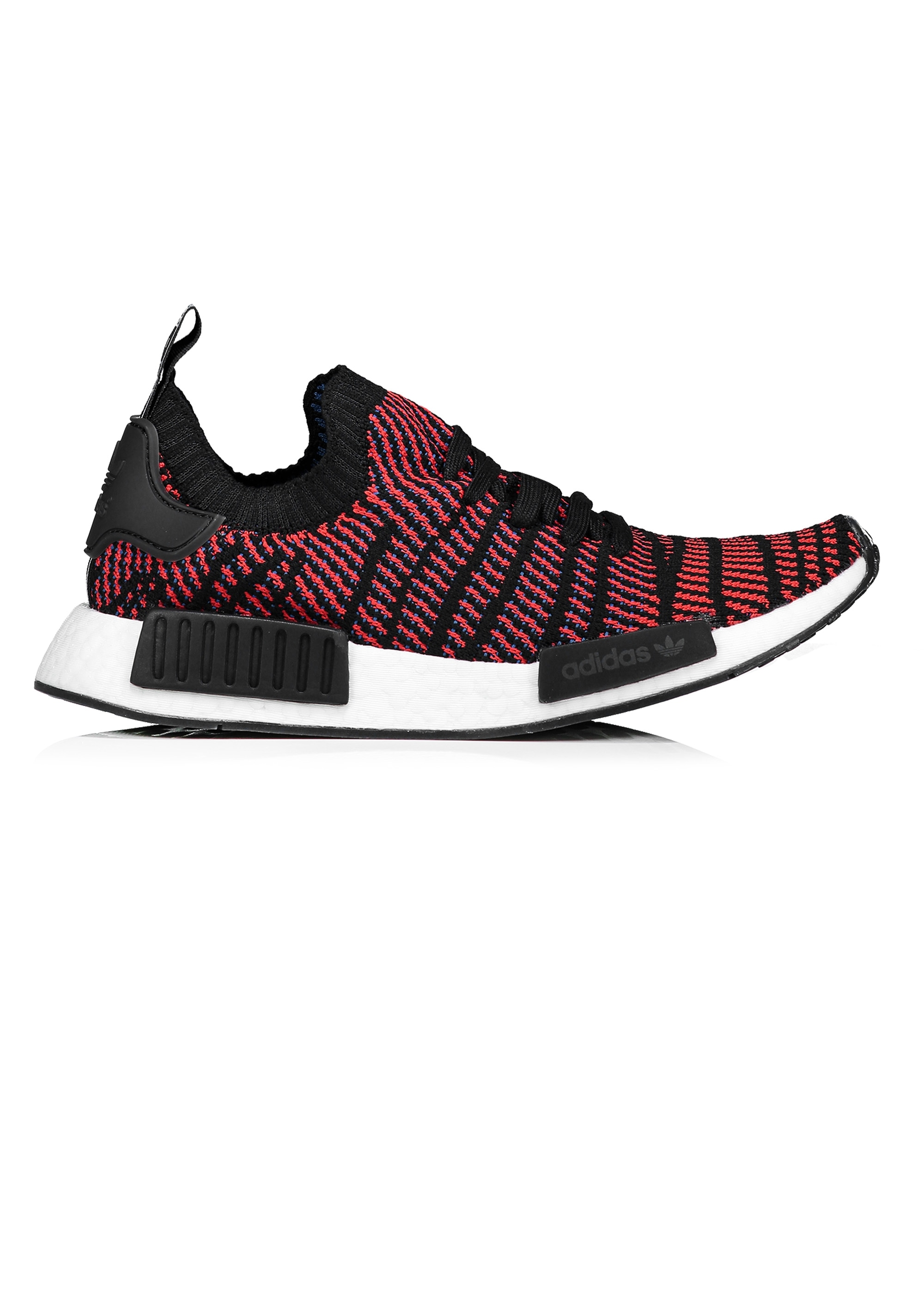 d7c0c93f82fab adidas Originals Footwear NMD R1 STLT PK - Black   Red - Triads Mens ...