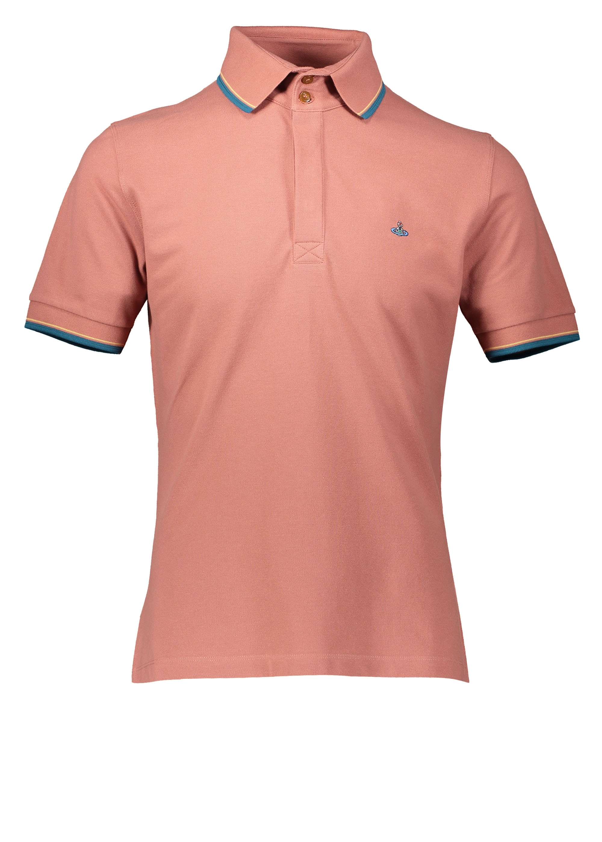 702a31bfa5958 Vivienne Westwood Mens Overlock Polo - Brick - Triads Mens from ...