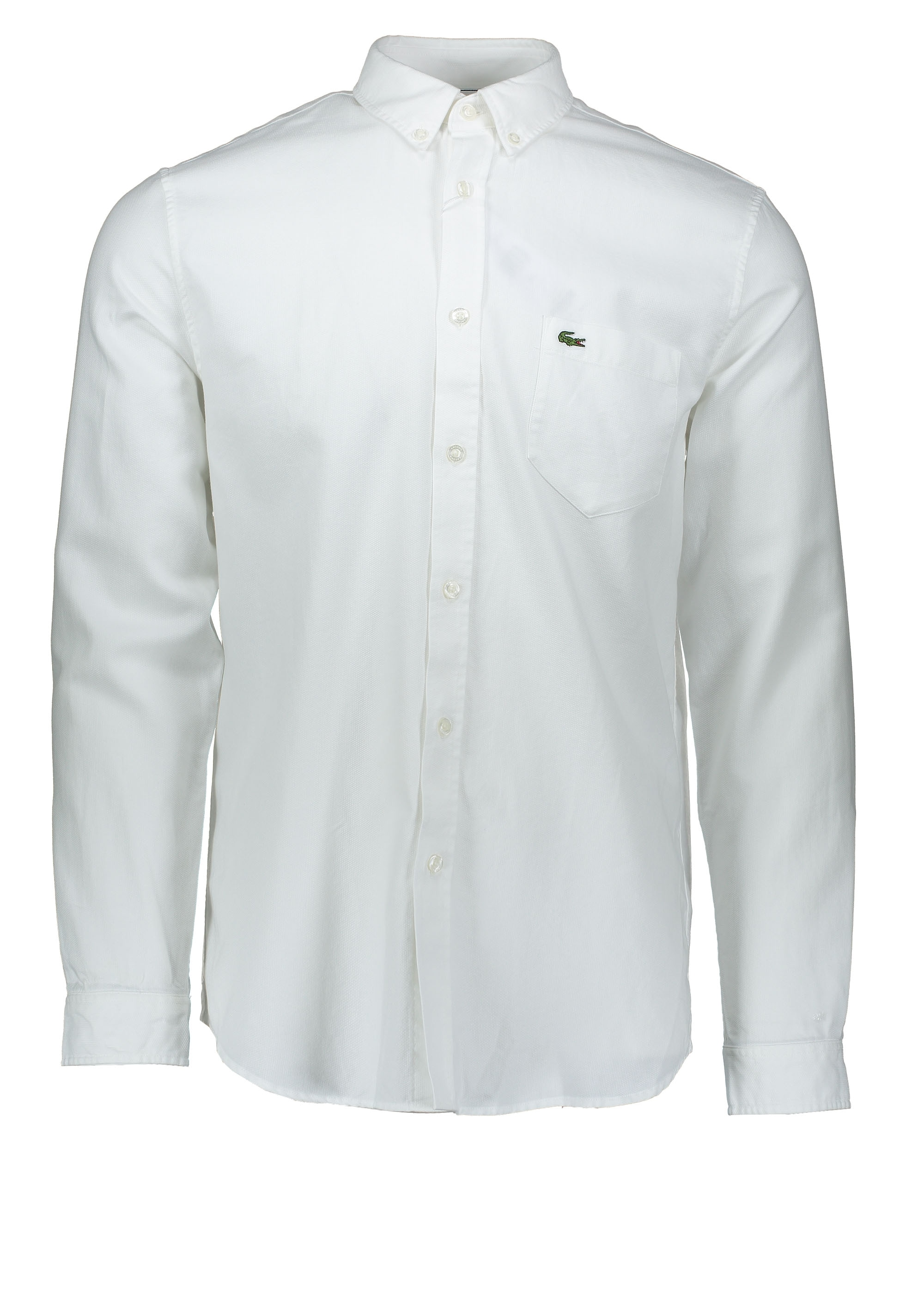 0ede0eac70 Lacoste Pocket Shirt - White - Shirts from Triads UK