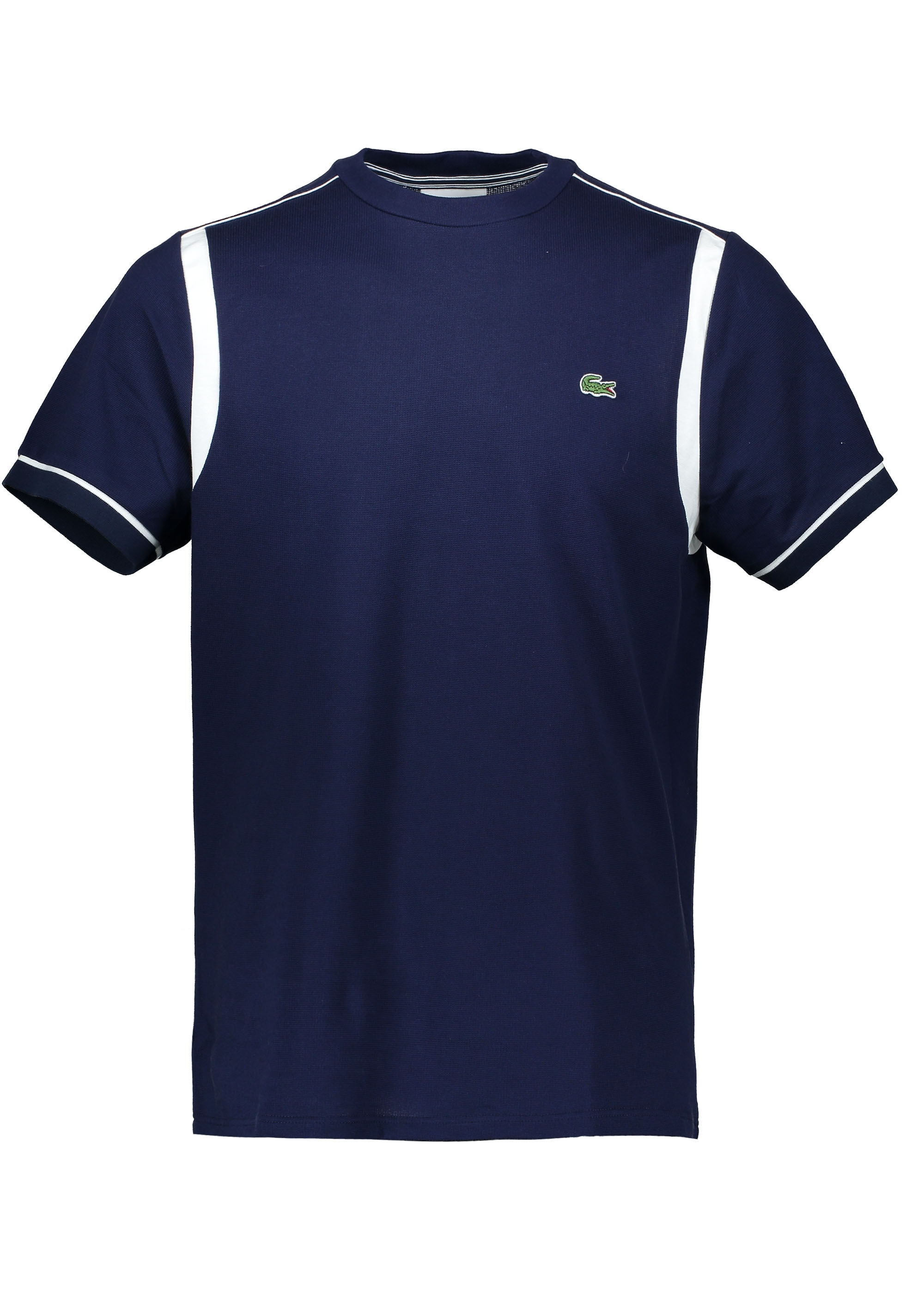 7d497bc6 Lacoste Trim T-Shirt - Navy / Flour - Triads Mens from Triads UK