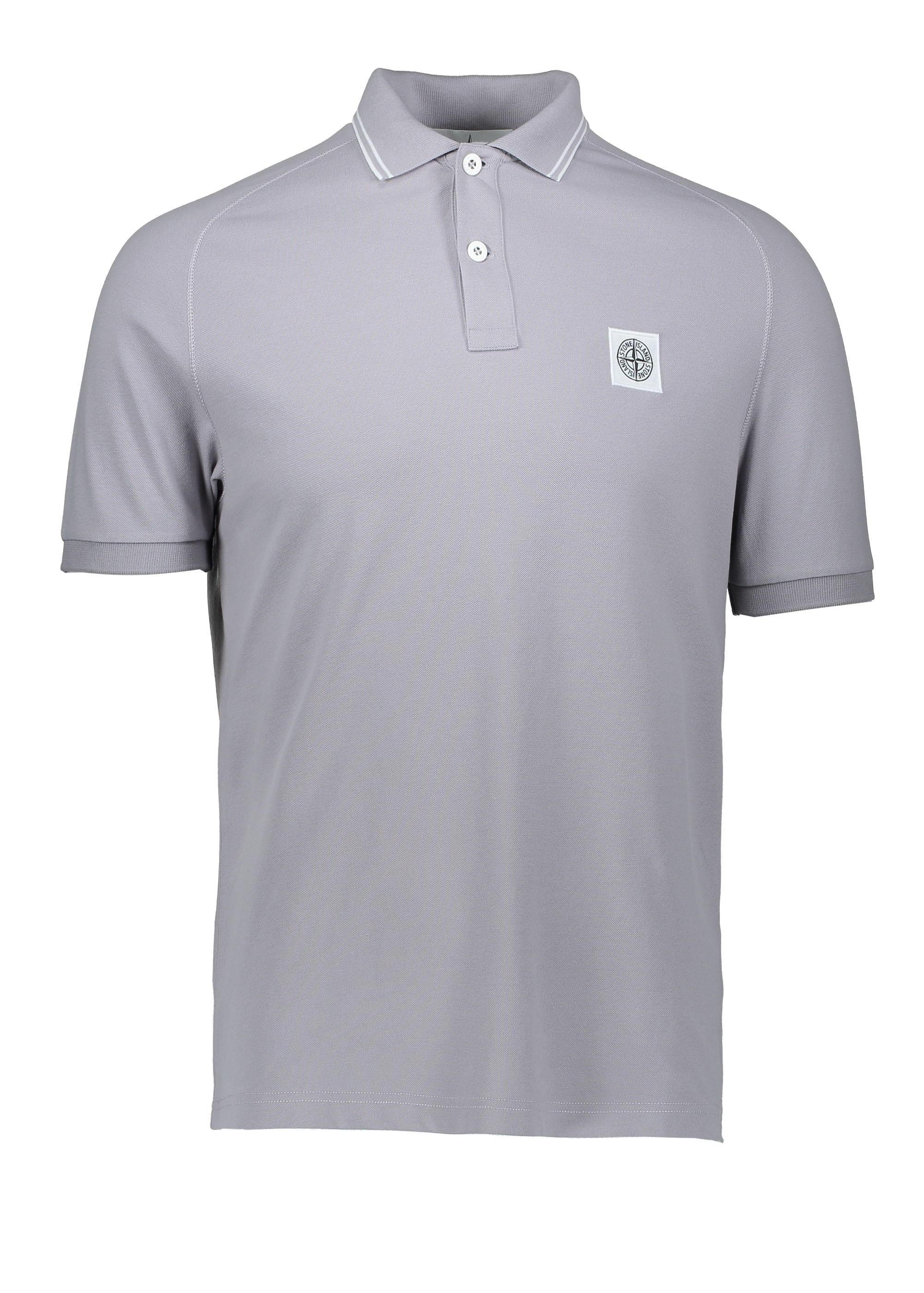 5d4f9ad4 Stone Island Logo Polo - Lavender - Polo Shirts from Triads UK