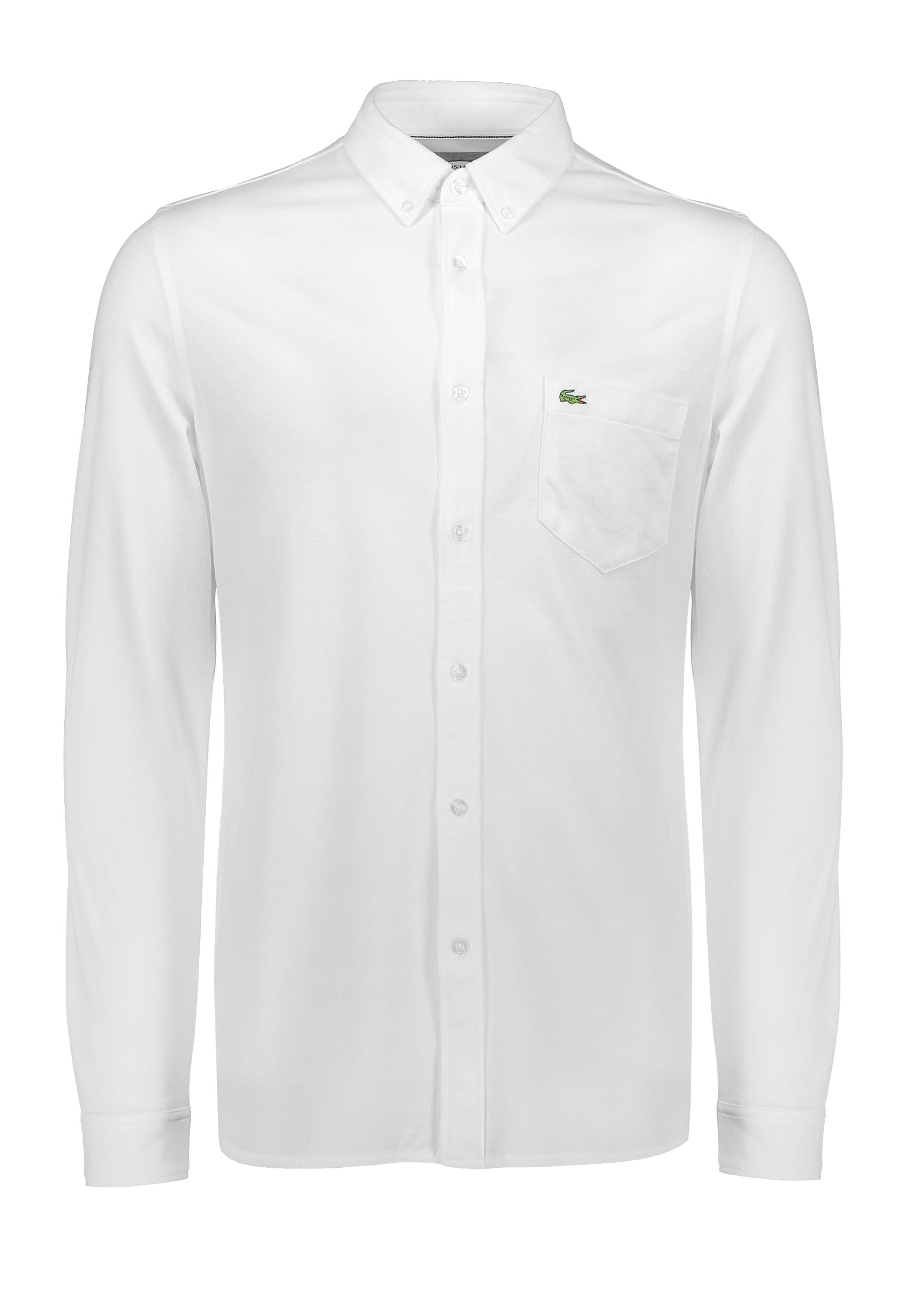 e404dfc7 Lacoste Pocket Shirt - White - Triads Mens from Triads UK