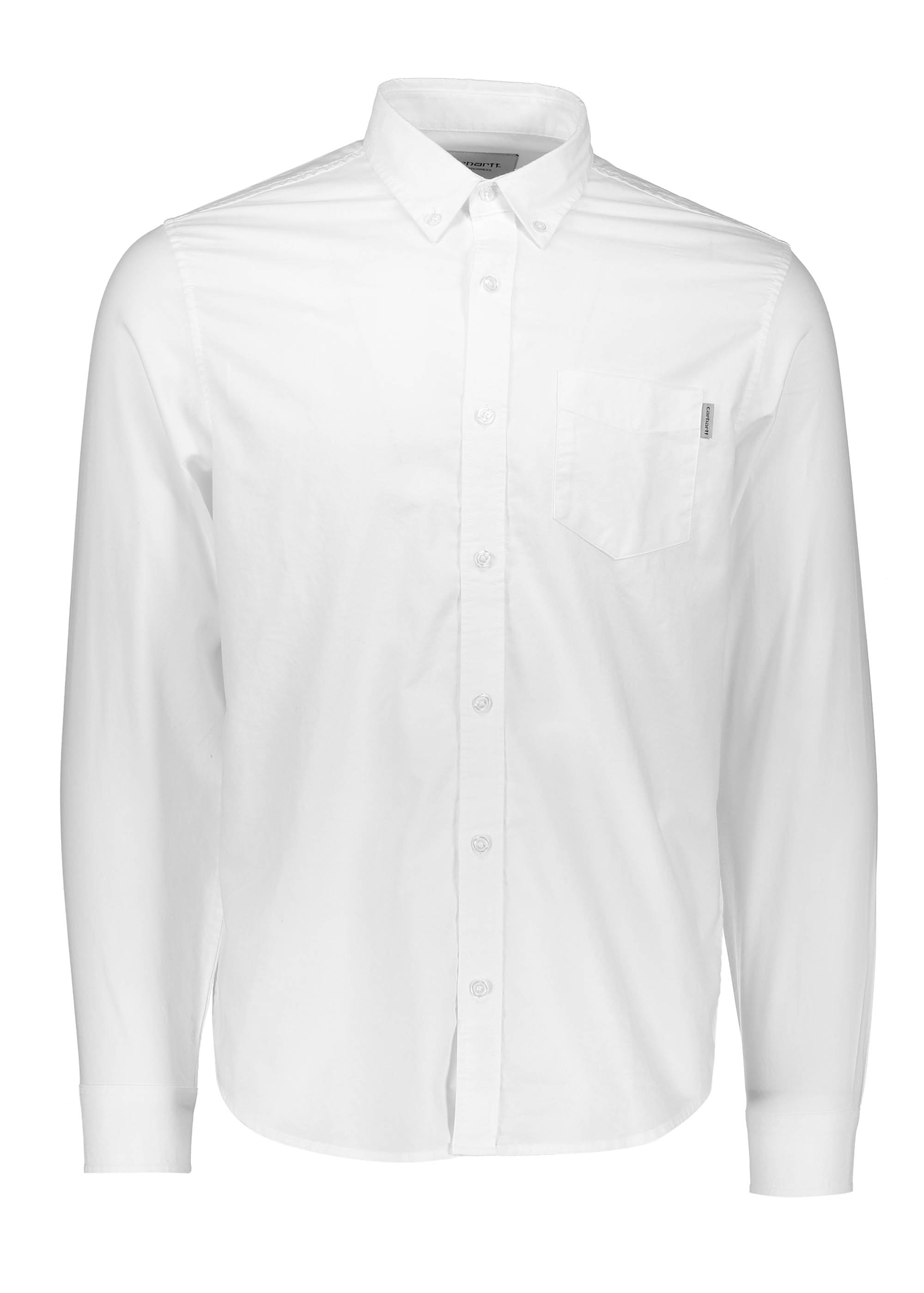 199b7605dbf ... Carhartt LS Button Down Pocket Shirt White Shirts from Triads UK