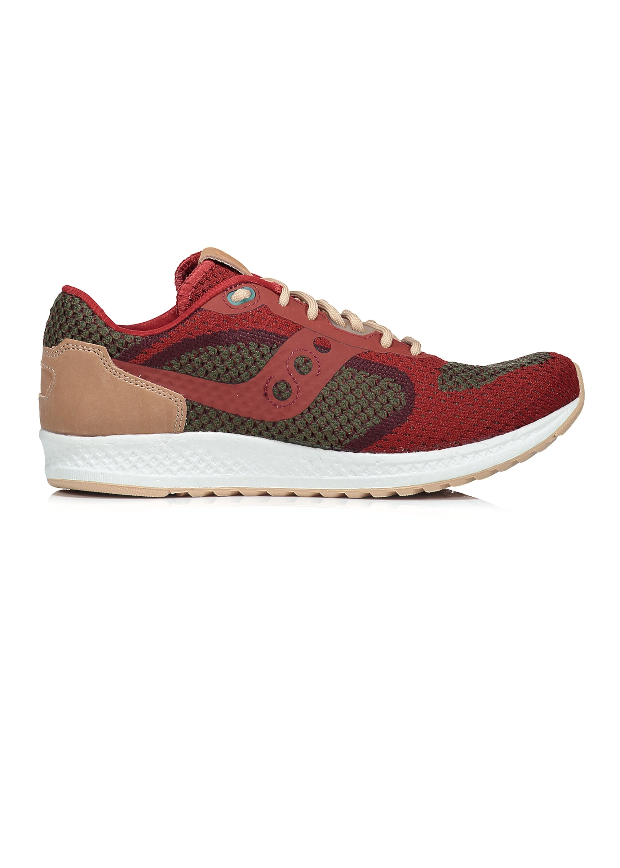 Saucony Mens Shadow 5000 EVR Trainers Red