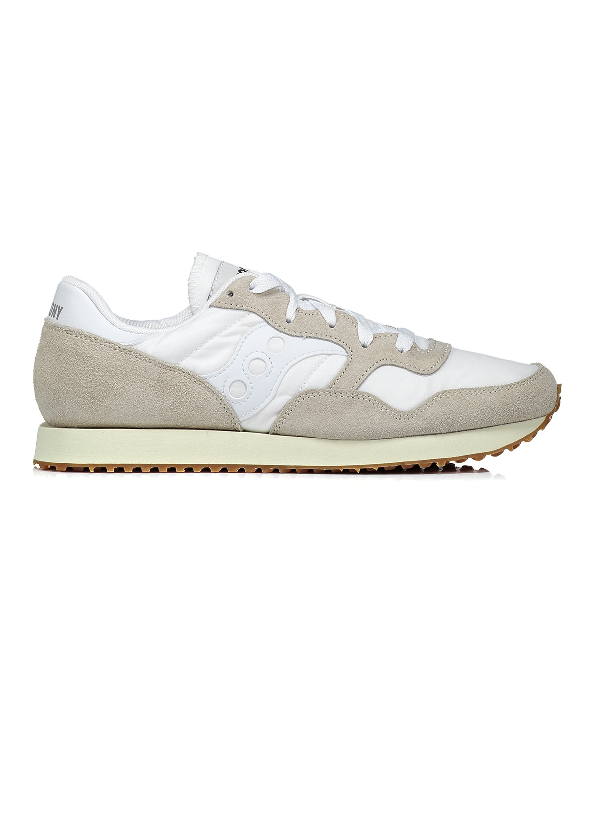 c3d6bfe2ca26 Saucony DXN Trainer - White   Gum - Trainers from Triads UK